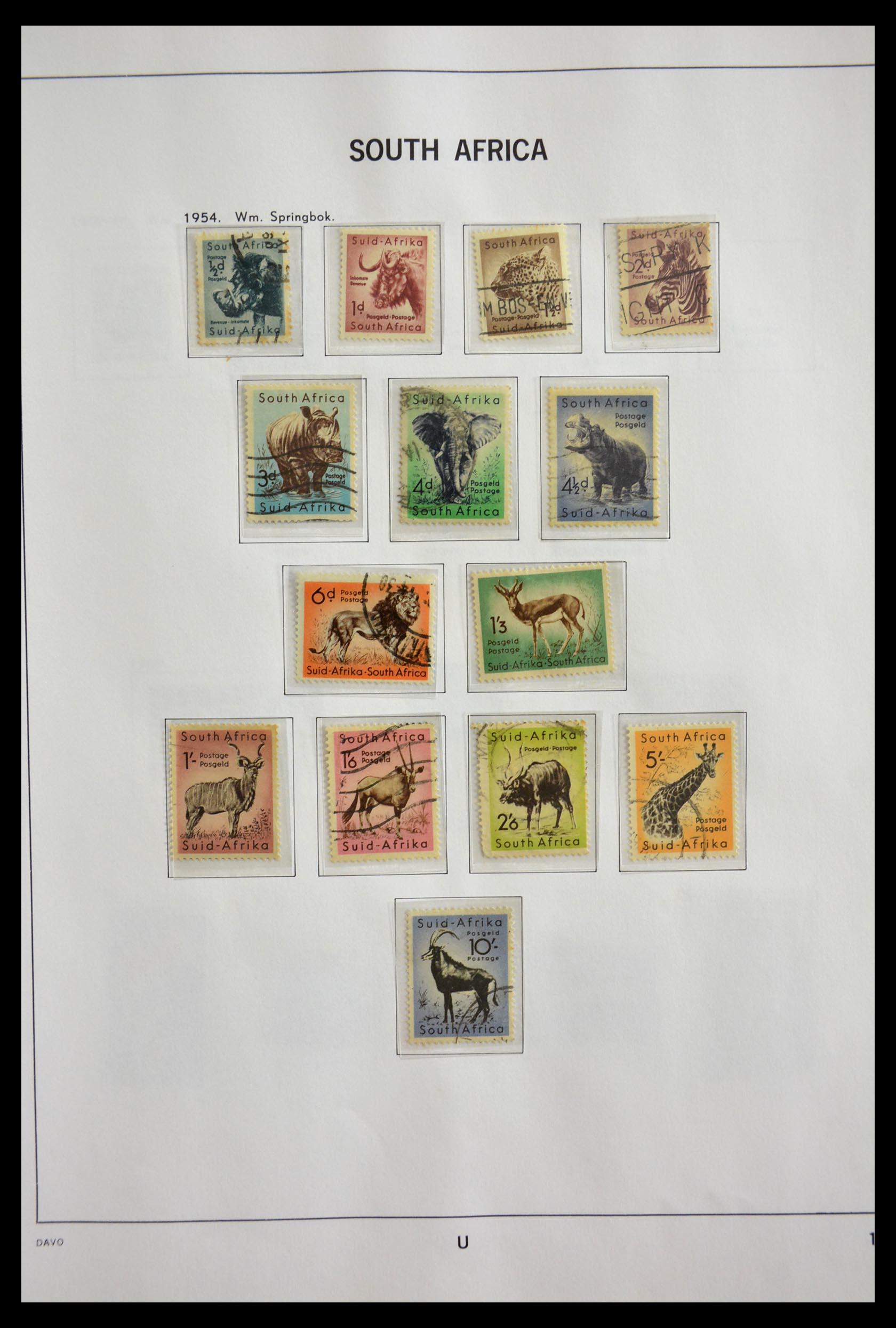 29393 015 - 29393 Zuid Afrika 1910-2001.