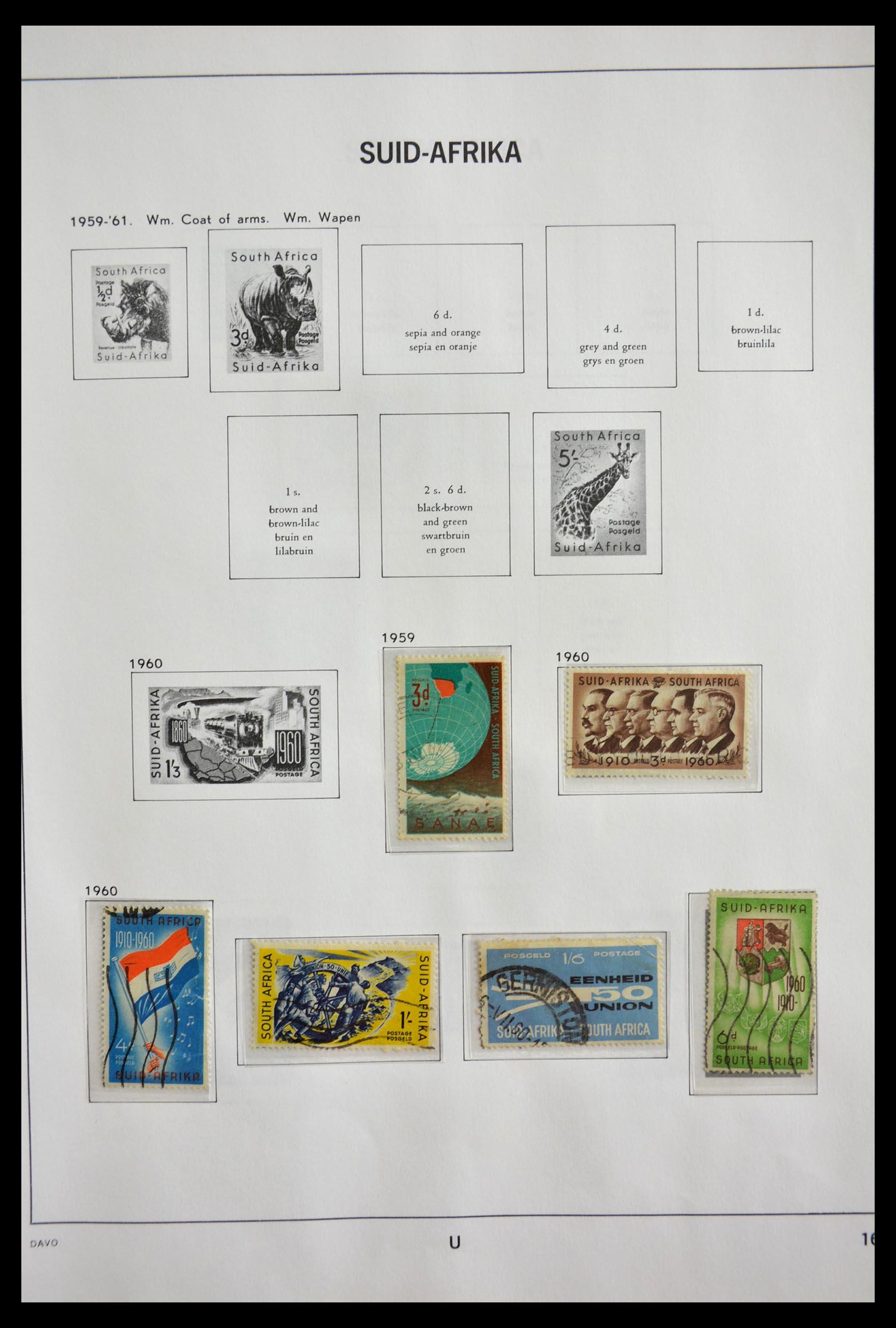 29393 016 - 29393 Zuid Afrika 1910-2001.