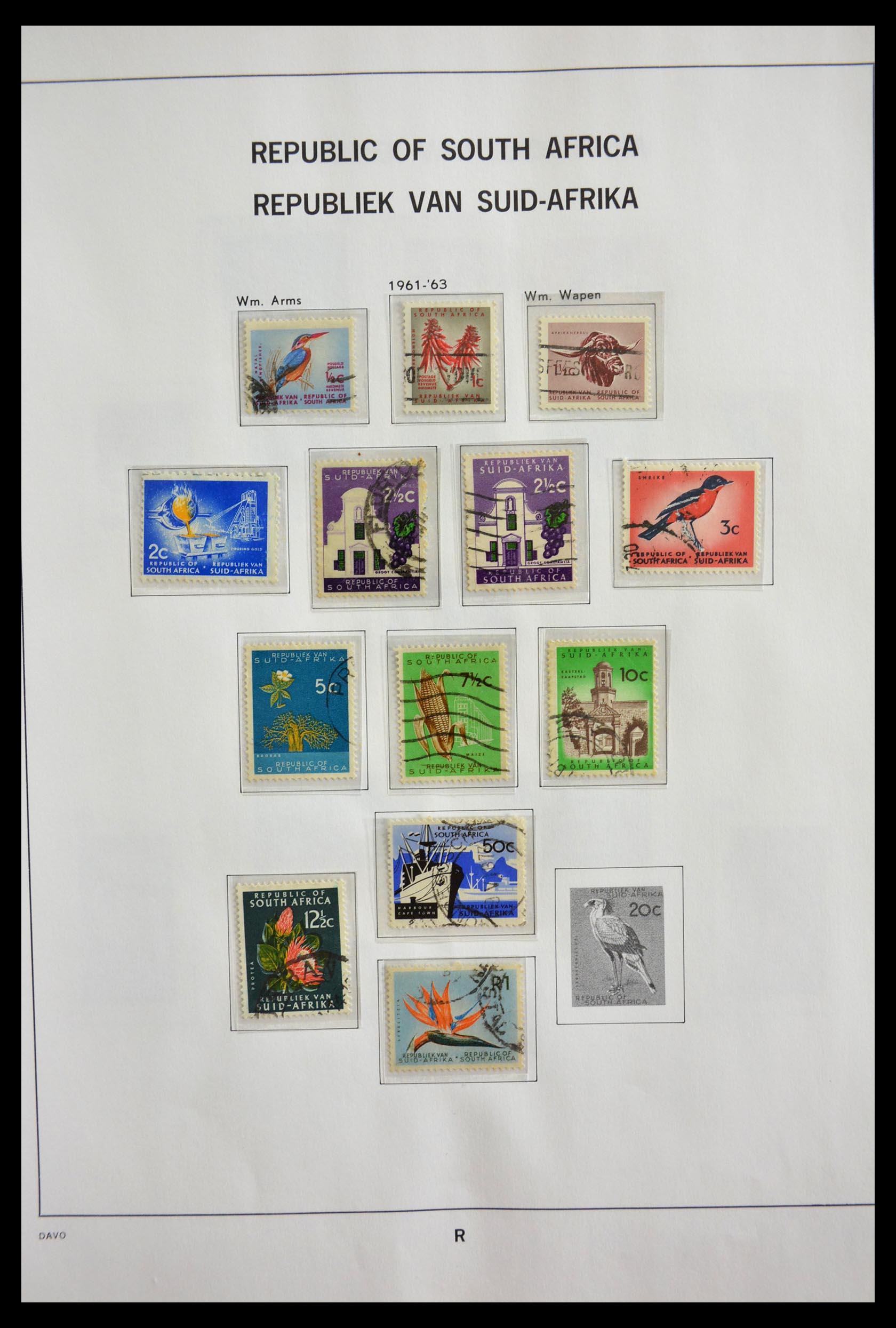 29393 020 - 29393 Zuid Afrika 1910-2001.