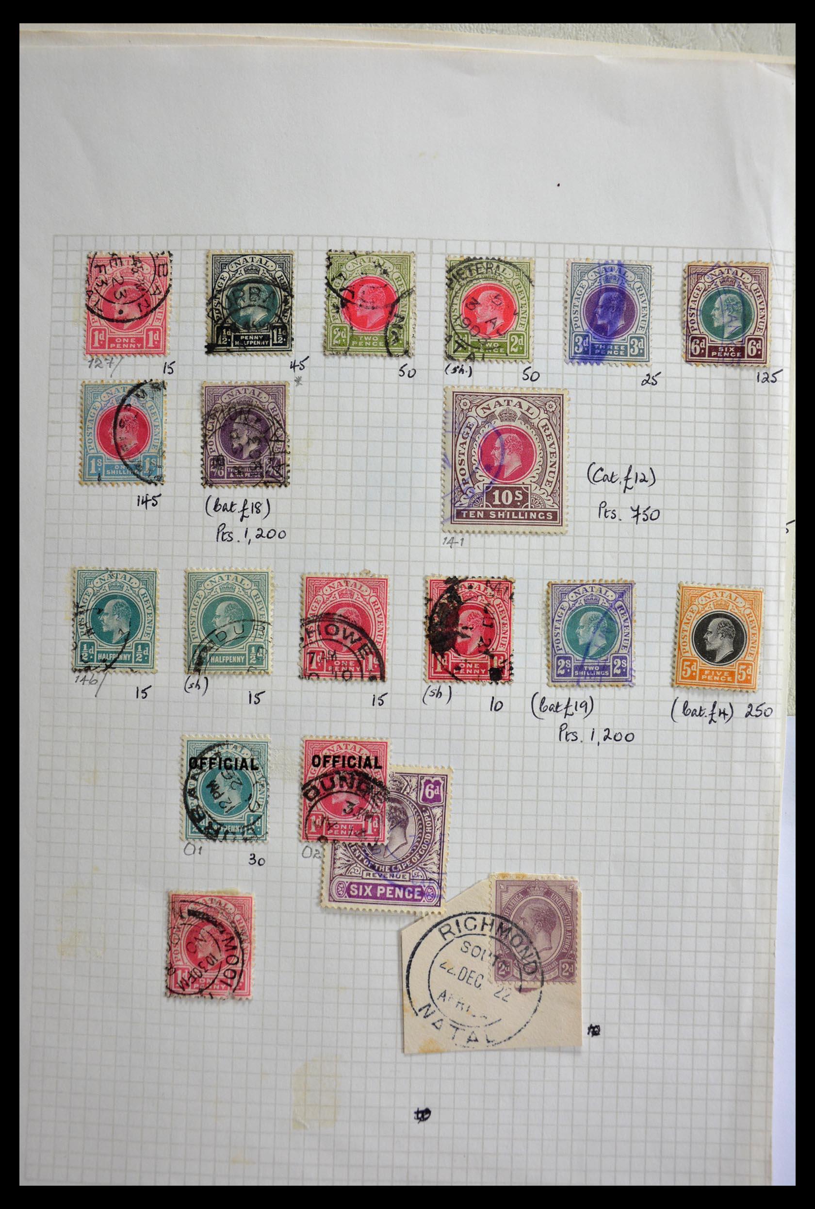 29420 004 - 29420 Zuid Afrika en gebieden 1910-2001.