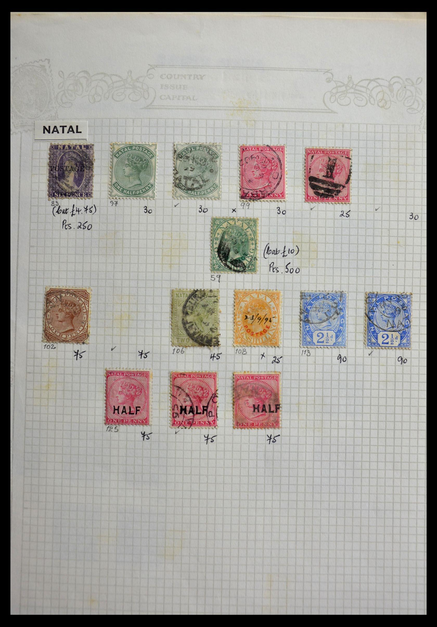 29420 005 - 29420 Zuid Afrika en gebieden 1910-2001.