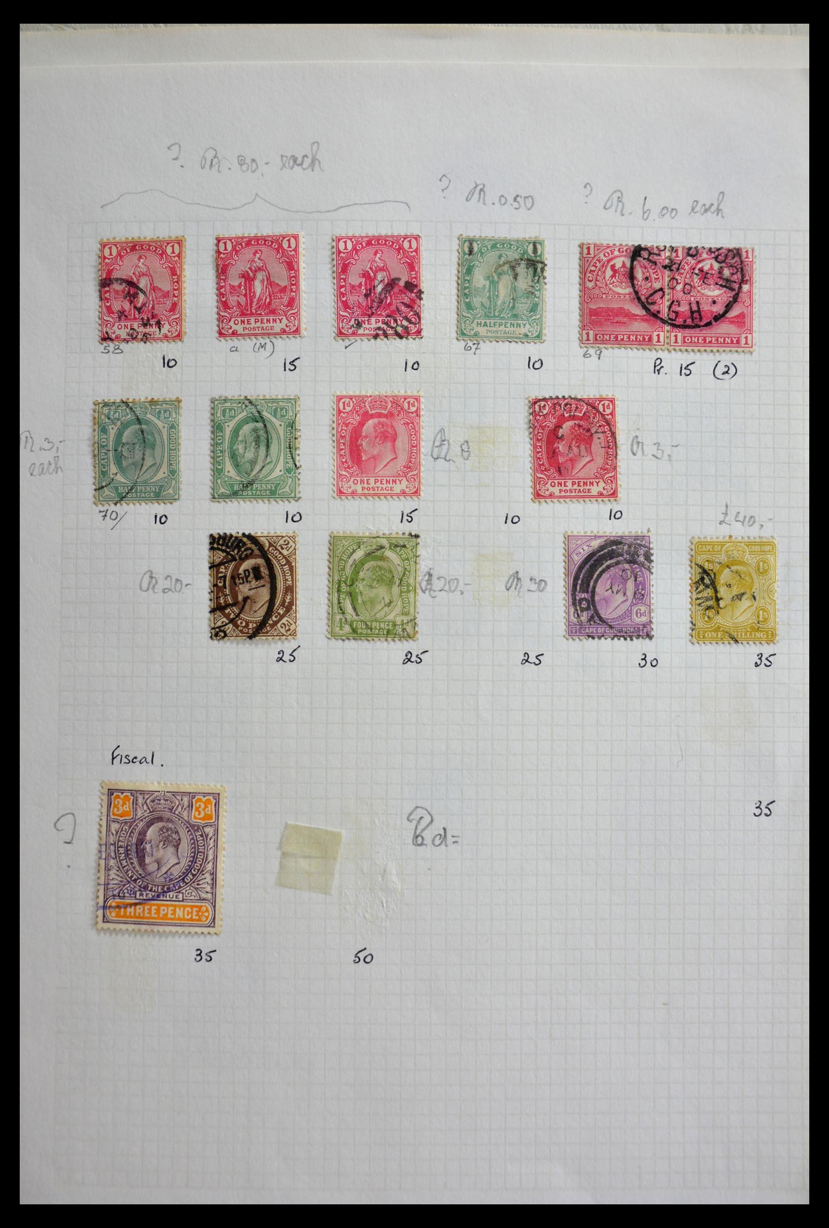 29420 007 - 29420 Zuid Afrika en gebieden 1910-2001.