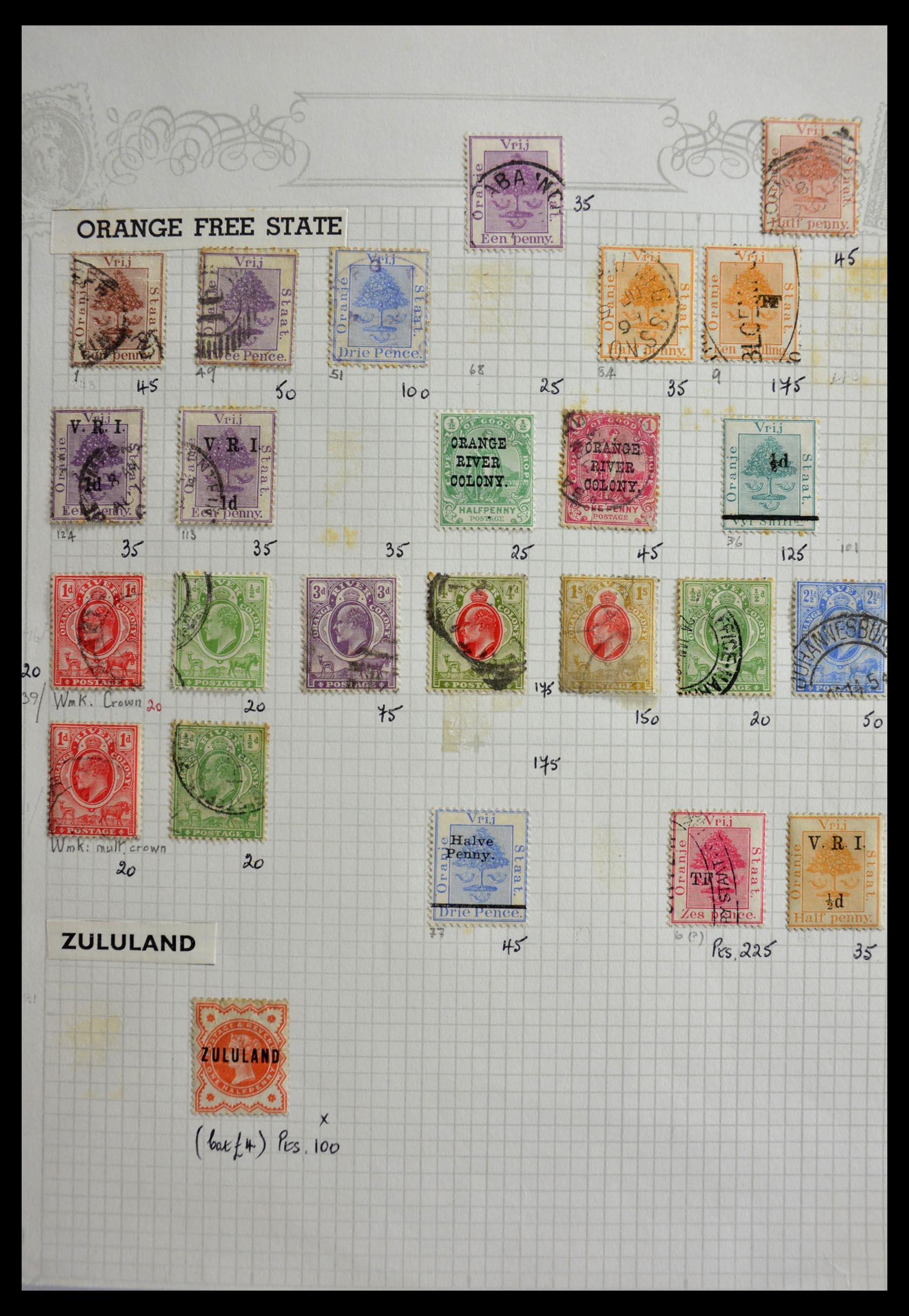 29420 008 - 29420 Zuid Afrika en gebieden 1910-2001.