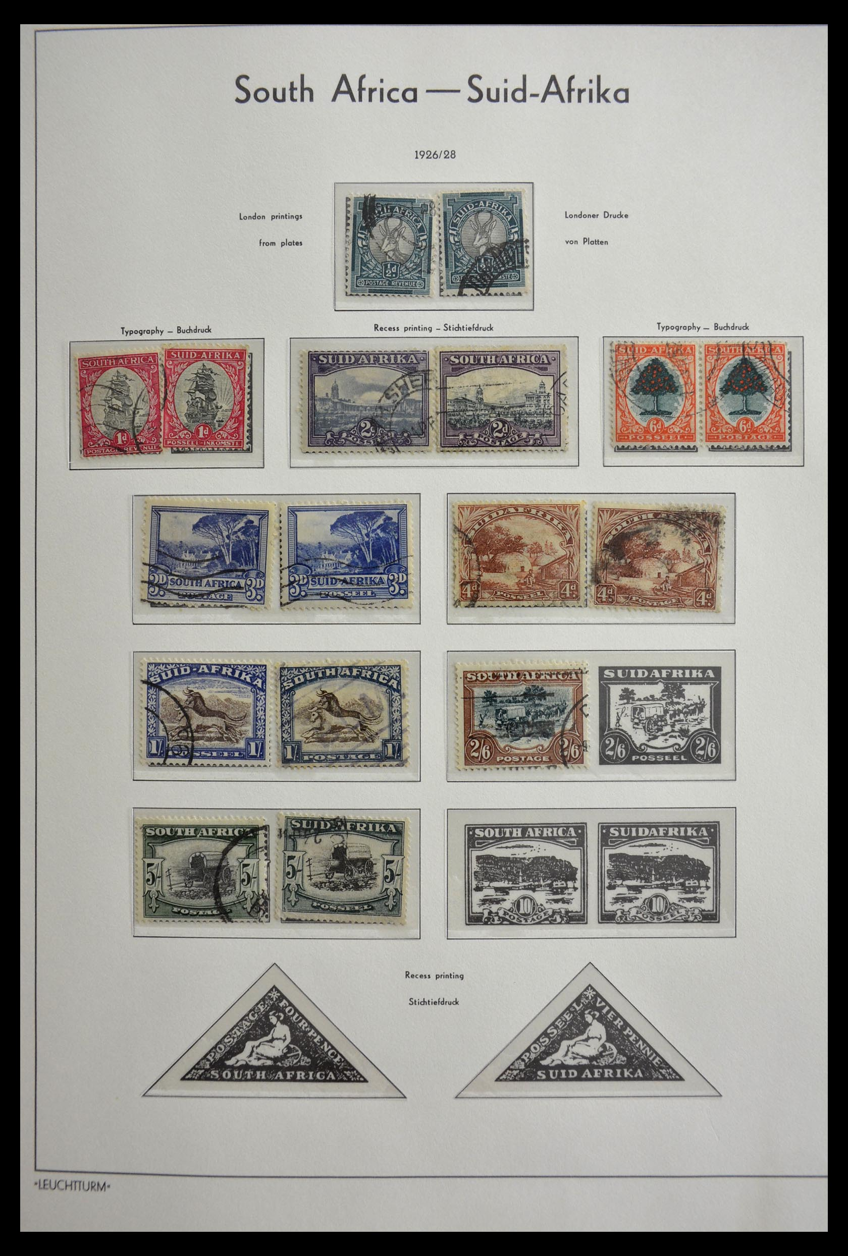 29420 011 - 29420 Zuid Afrika en gebieden 1910-2001.