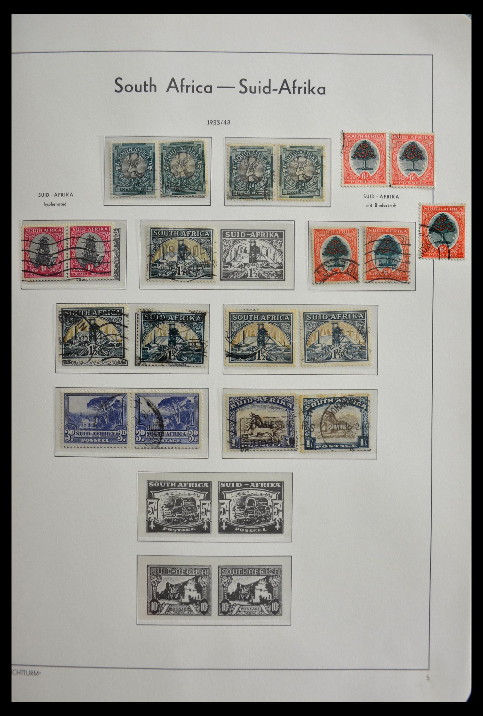 29420 014 - 29420 Zuid Afrika en gebieden 1910-2001.