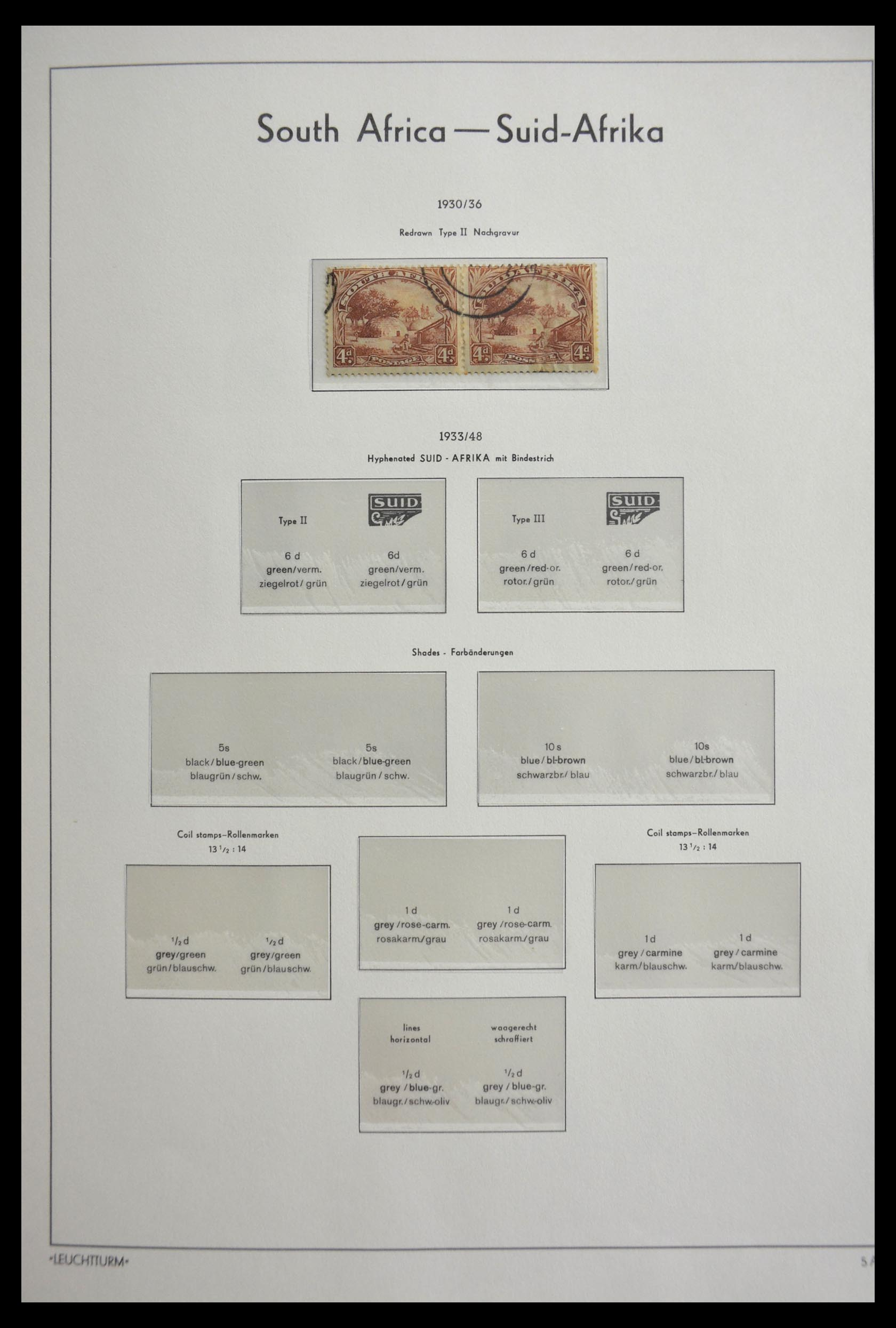 29420 015 - 29420 Zuid Afrika en gebieden 1910-2001.