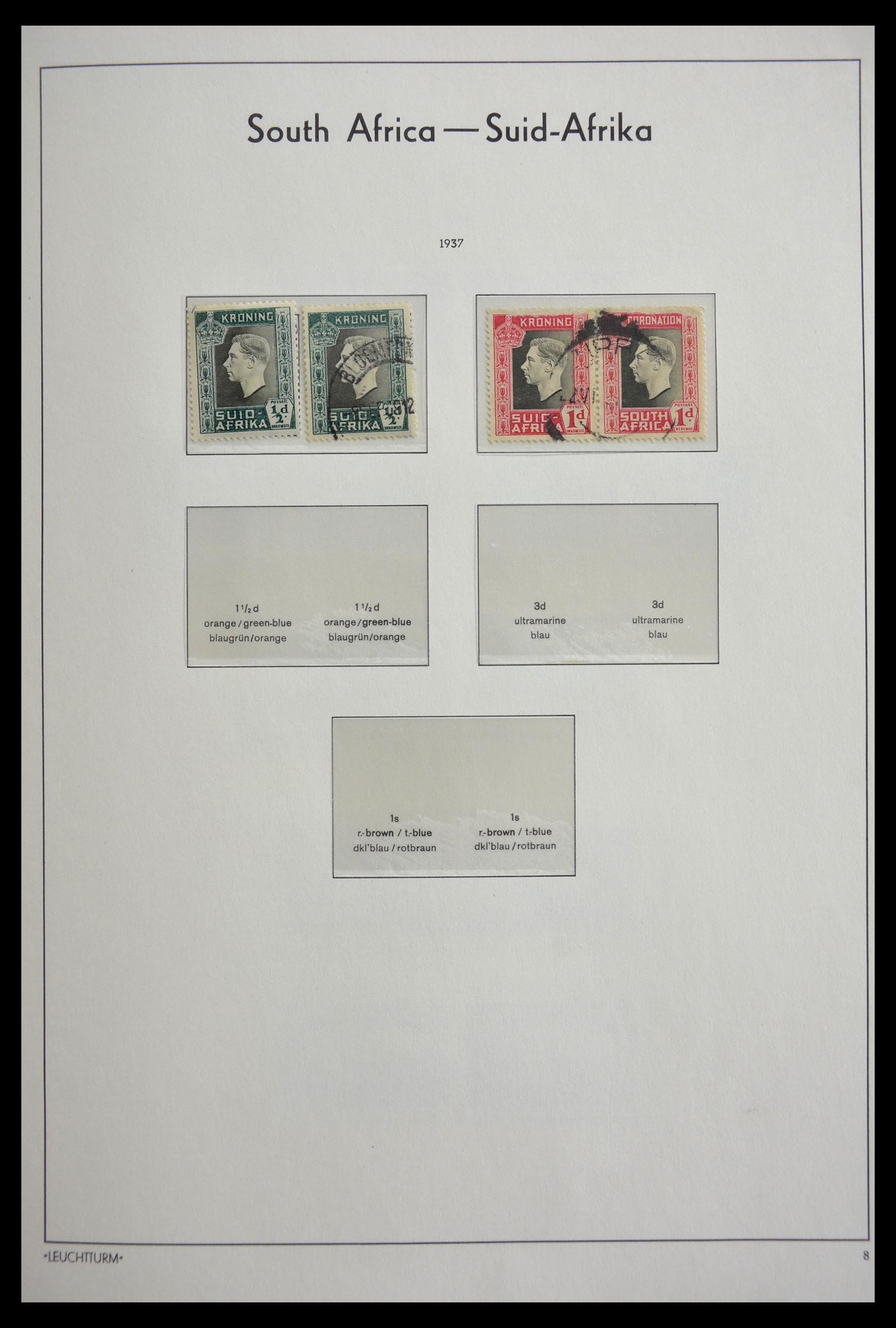 29420 017 - 29420 Zuid Afrika en gebieden 1910-2001.