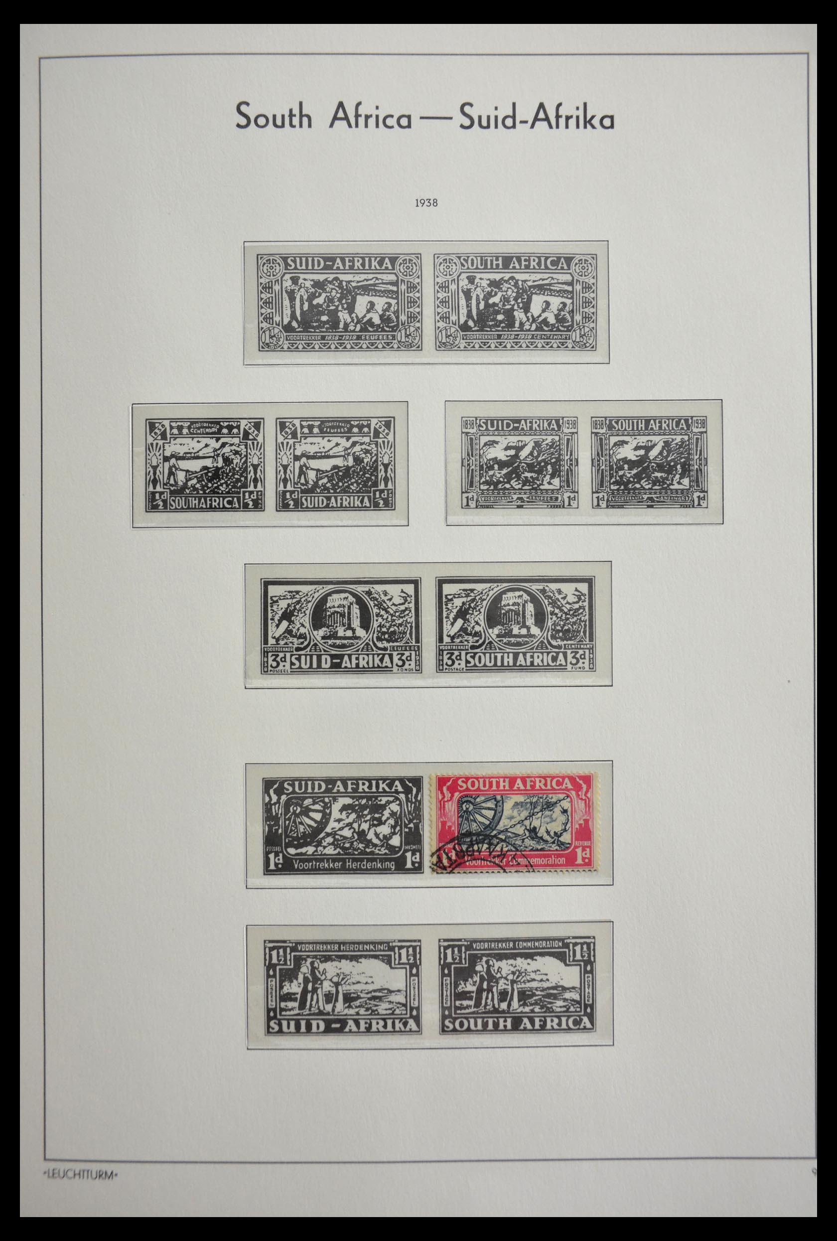 29420 018 - 29420 Zuid Afrika en gebieden 1910-2001.
