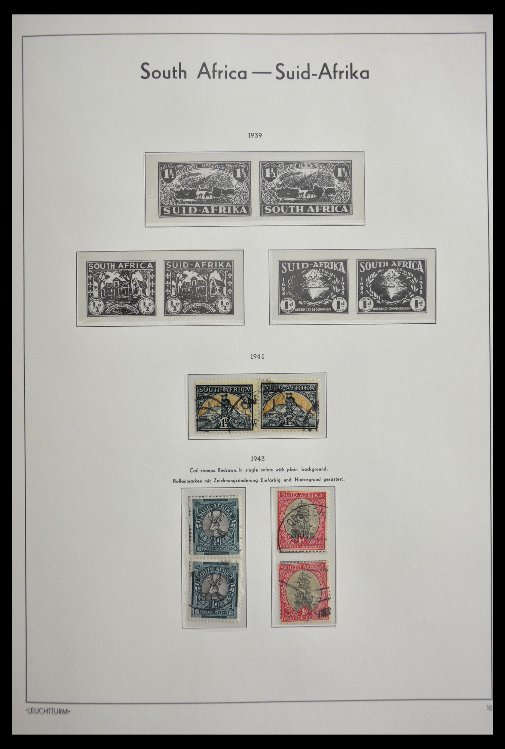 29420 019 - 29420 Zuid Afrika en gebieden 1910-2001.