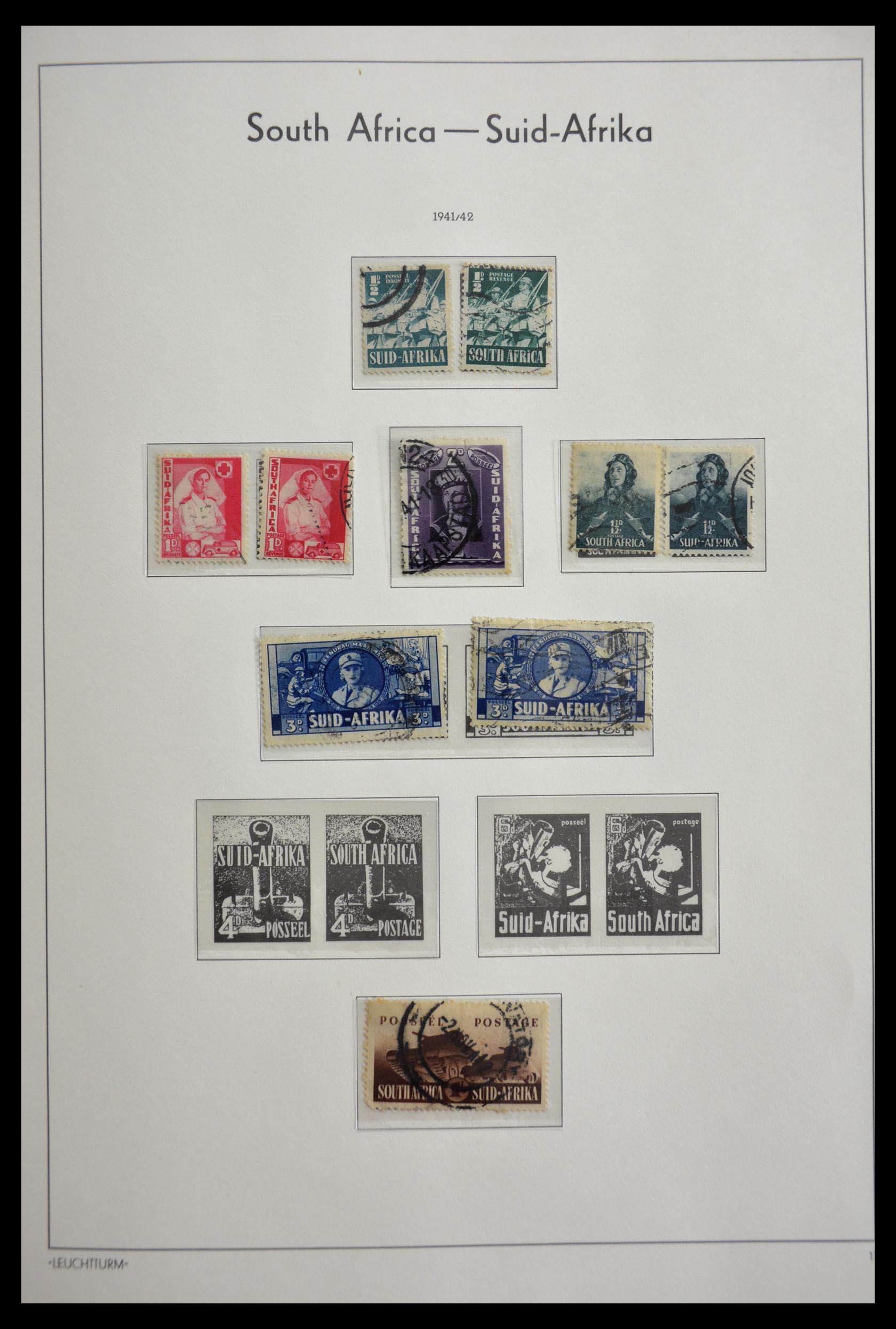 29420 020 - 29420 Zuid Afrika en gebieden 1910-2001.