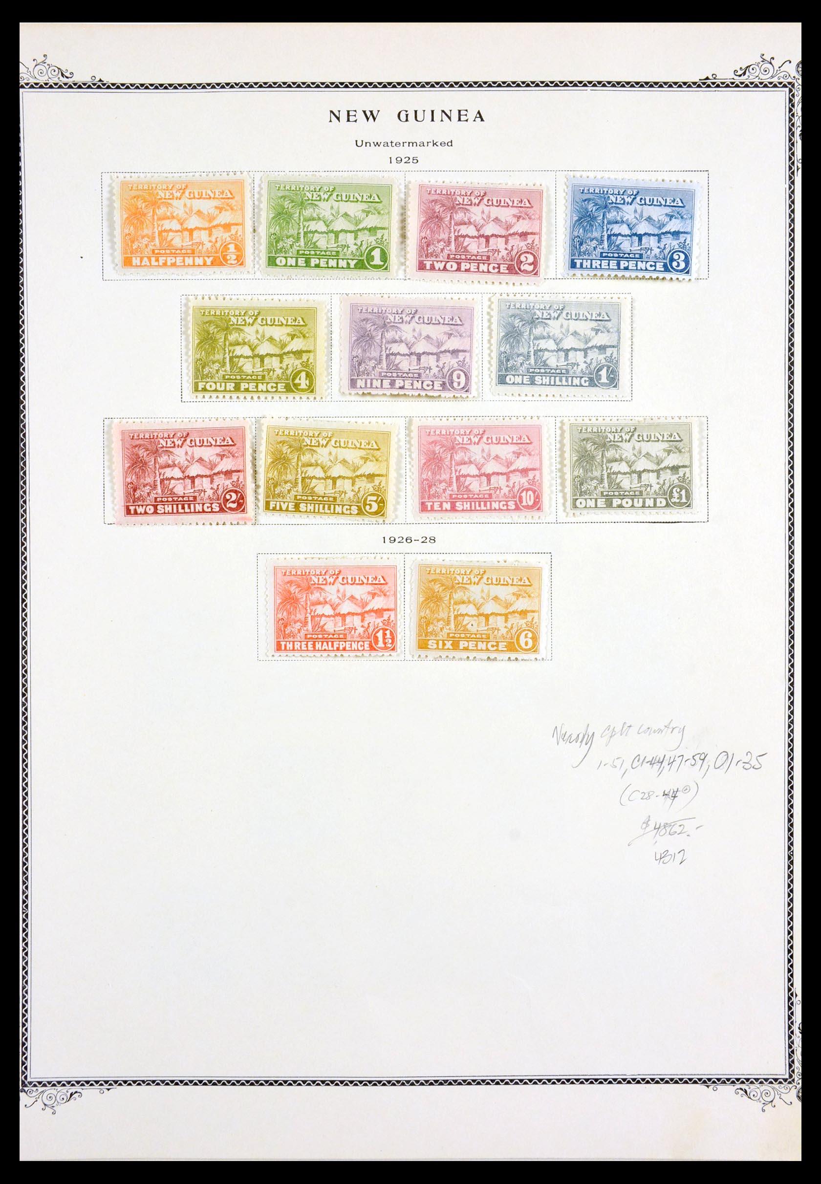 29615 001 - 29615 Nieuw Guinea 1925-1937.