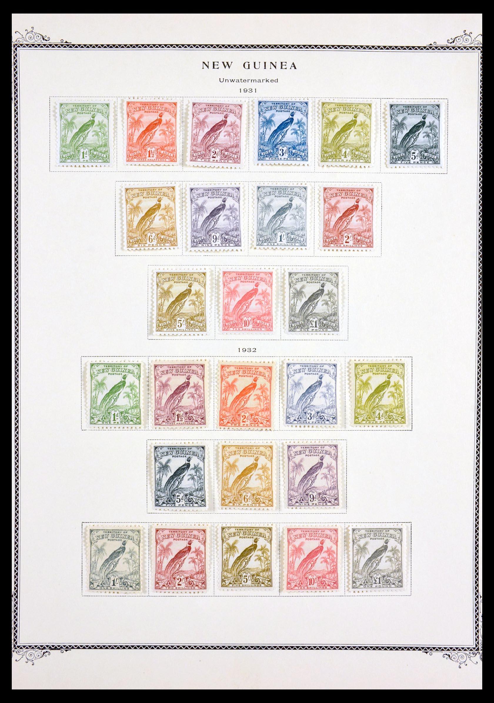 29615 002 - 29615 Nieuw Guinea 1925-1937.