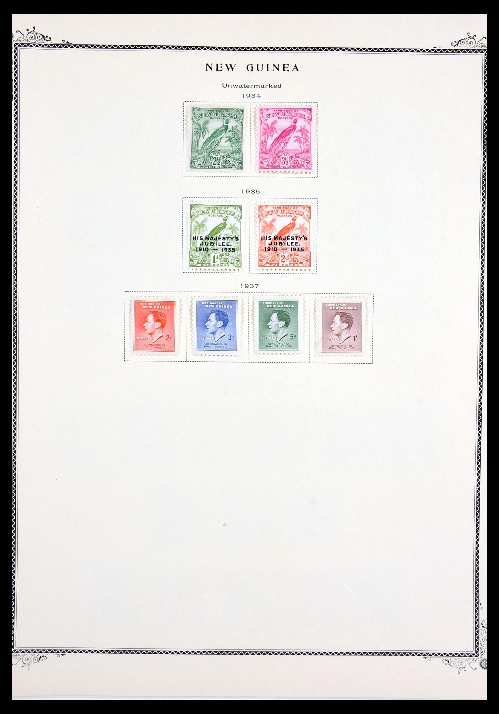 29615 003 - 29615 Nieuw Guinea 1925-1937.