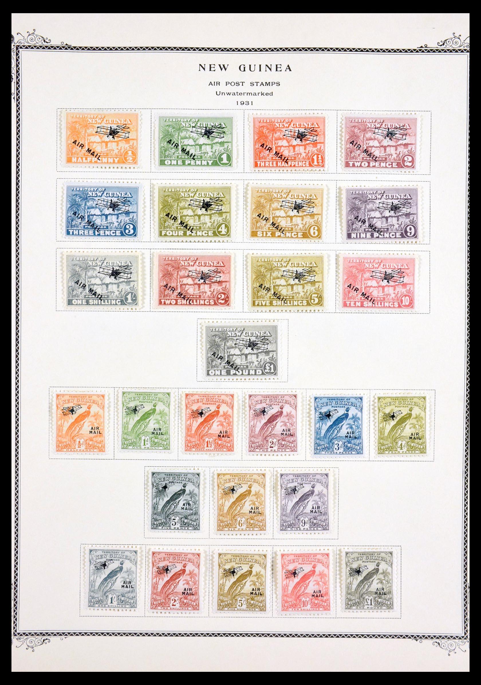 29615 004 - 29615 Nieuw Guinea 1925-1937.