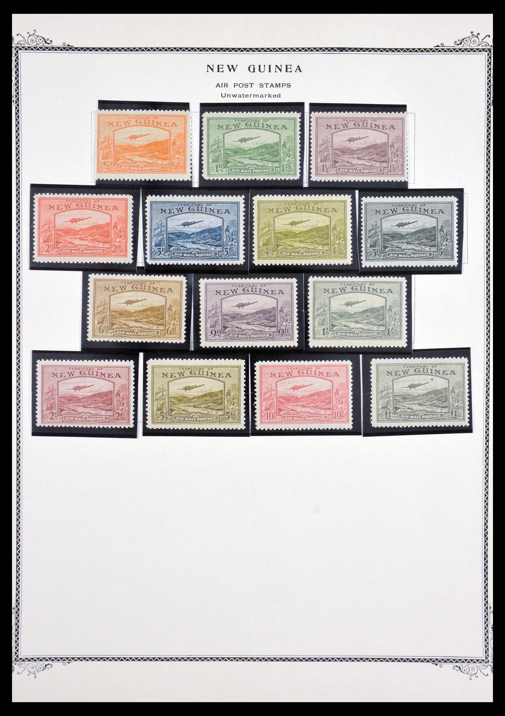 29615 006 - 29615 Nieuw Guinea 1925-1937.