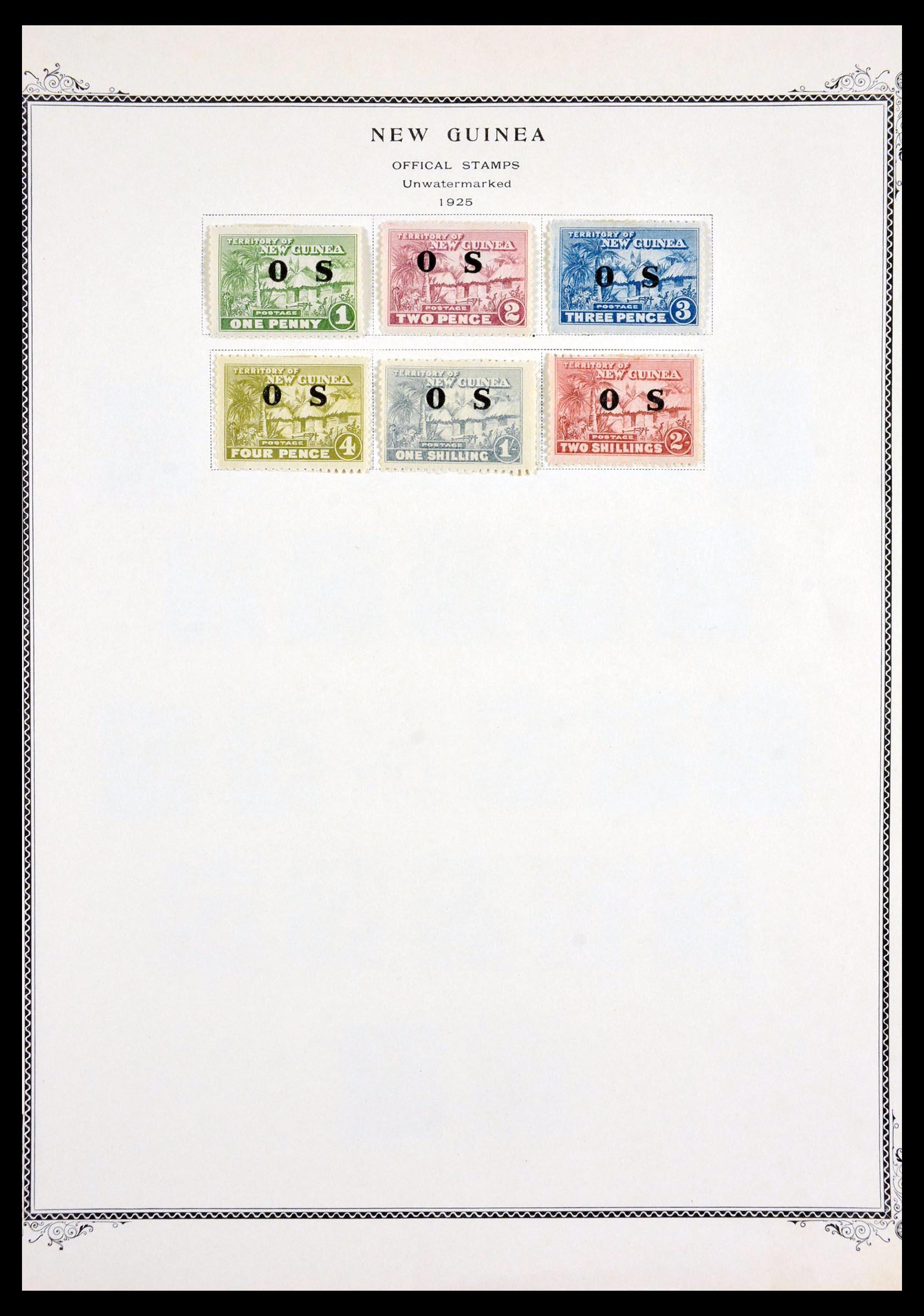 29615 007 - 29615 Nieuw Guinea 1925-1937.