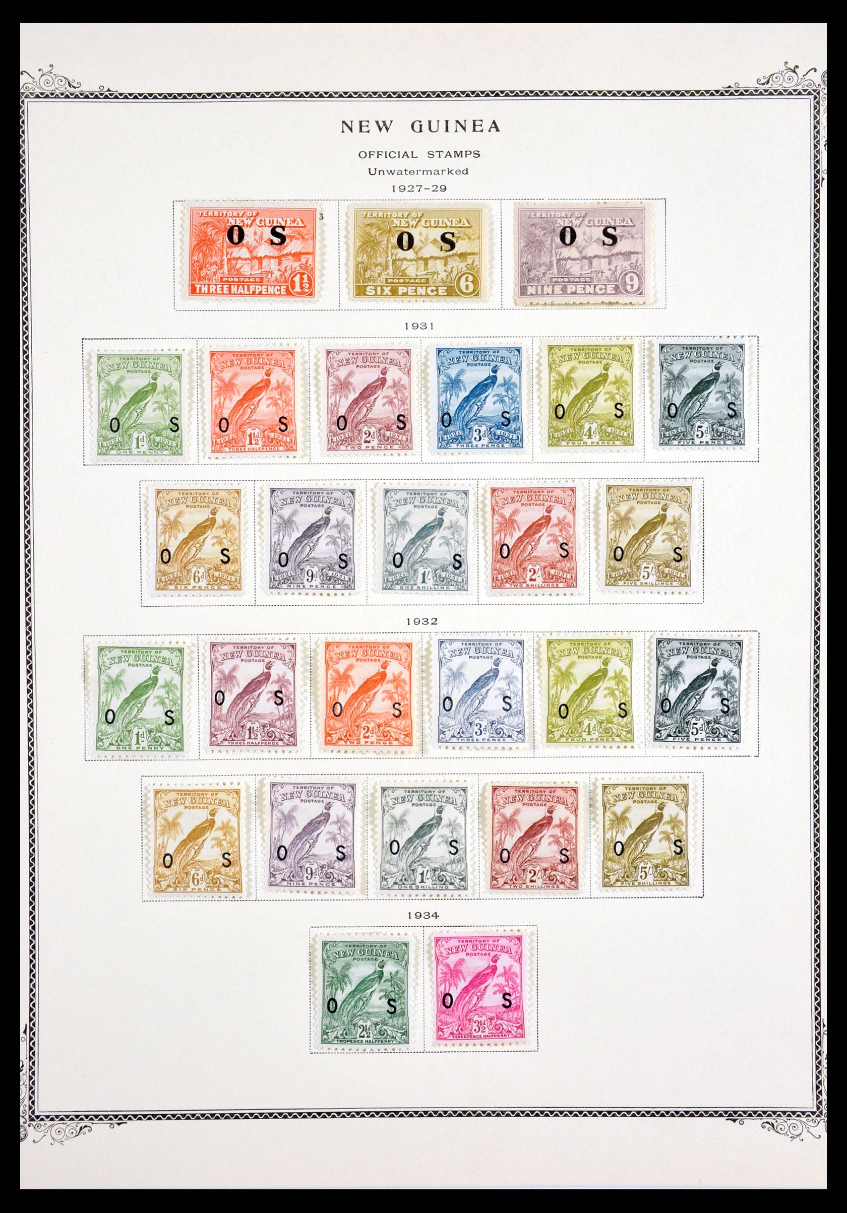 29615 008 - 29615 Nieuw Guinea 1925-1937.