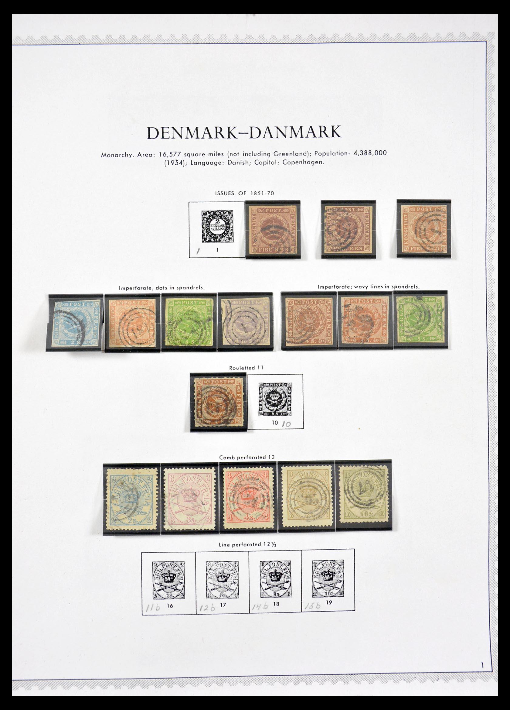 29660 001 - 29660 Scandinavië 1851-2002.