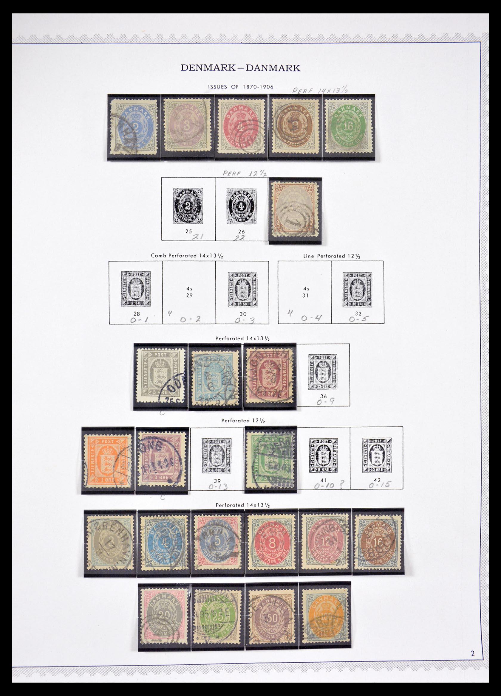 29660 002 - 29660 Scandinavië 1851-2002.