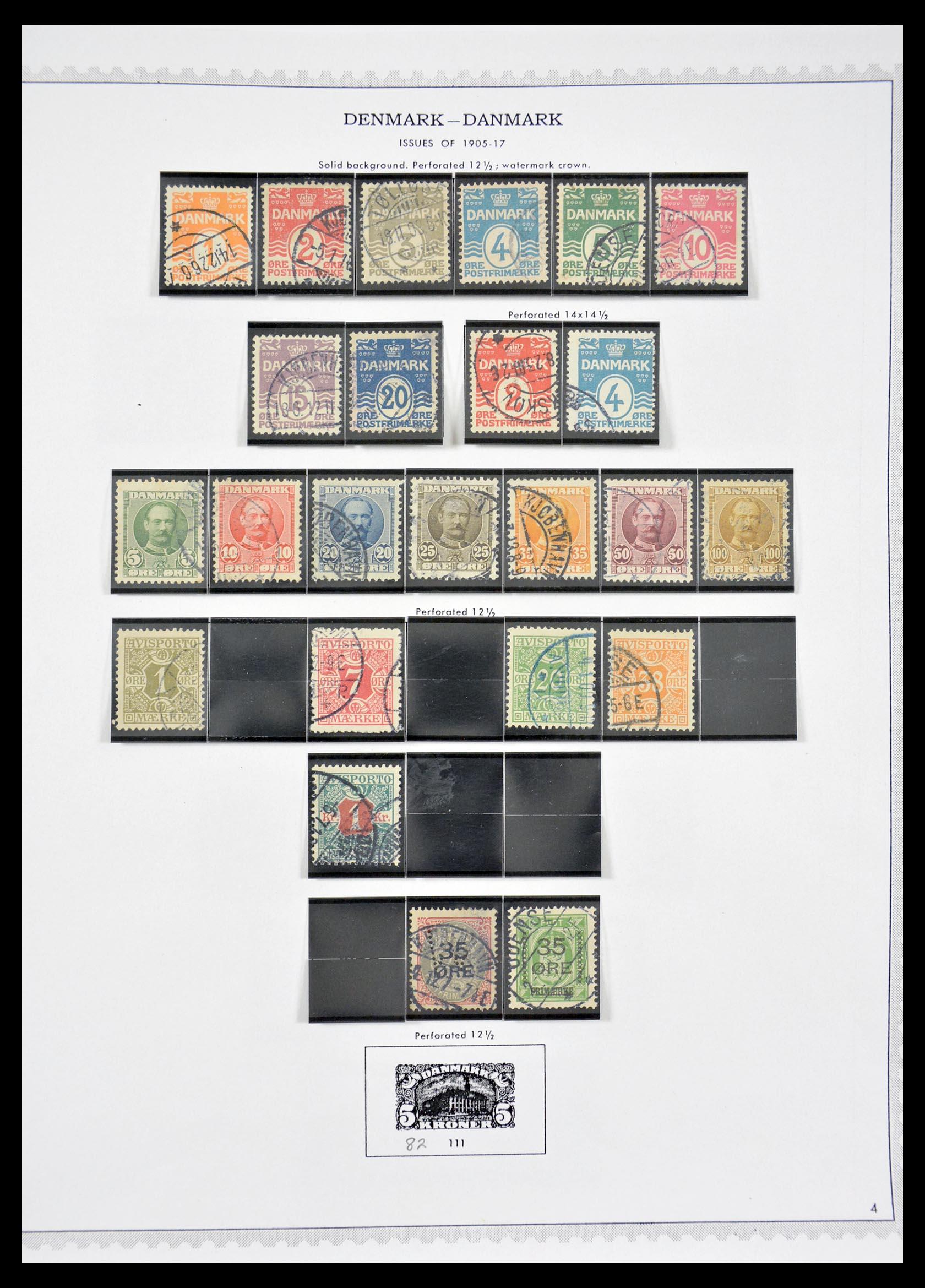 29660 004 - 29660 Scandinavië 1851-2002.