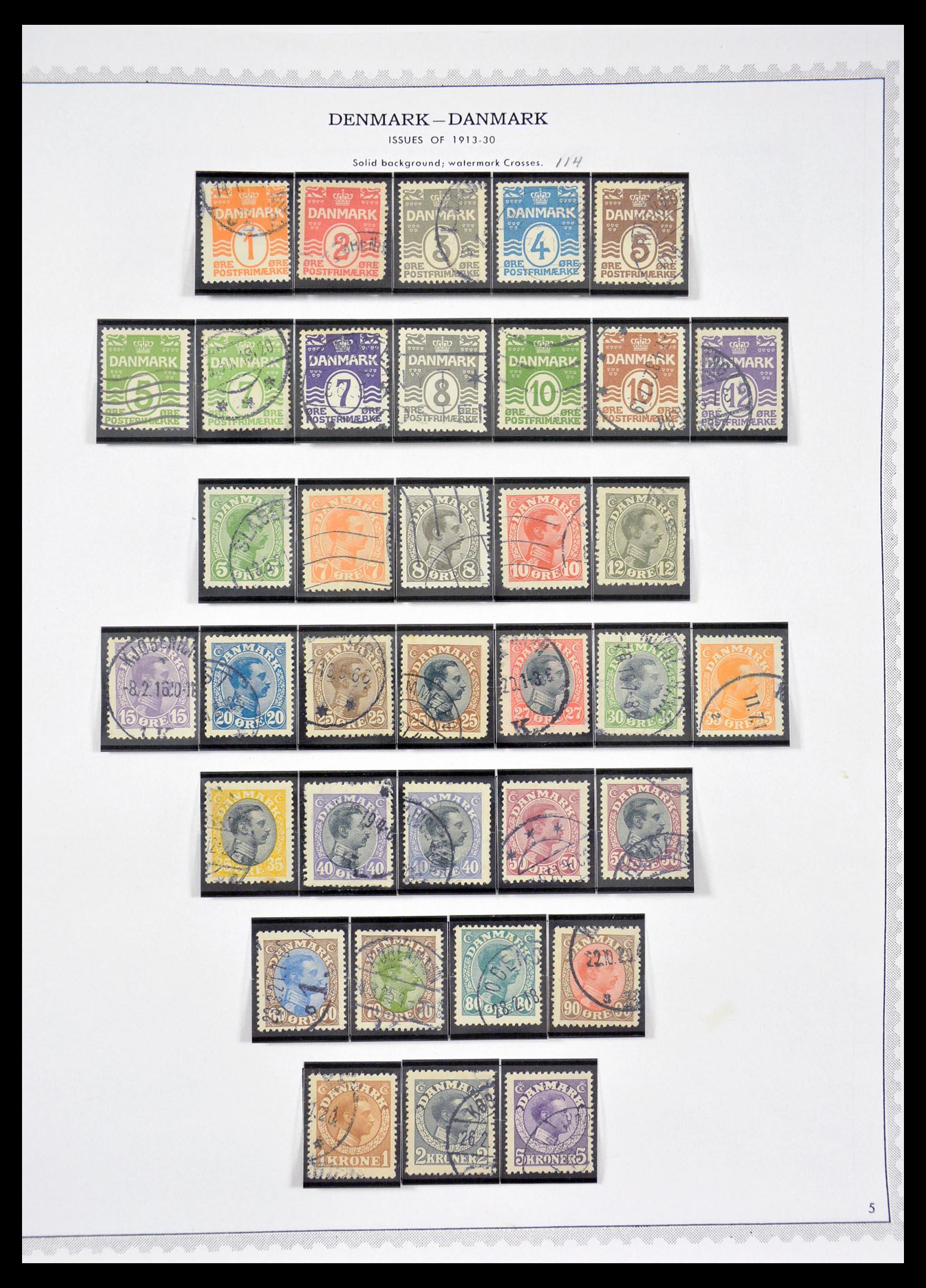 29660 005 - 29660 Scandinavië 1851-2002.