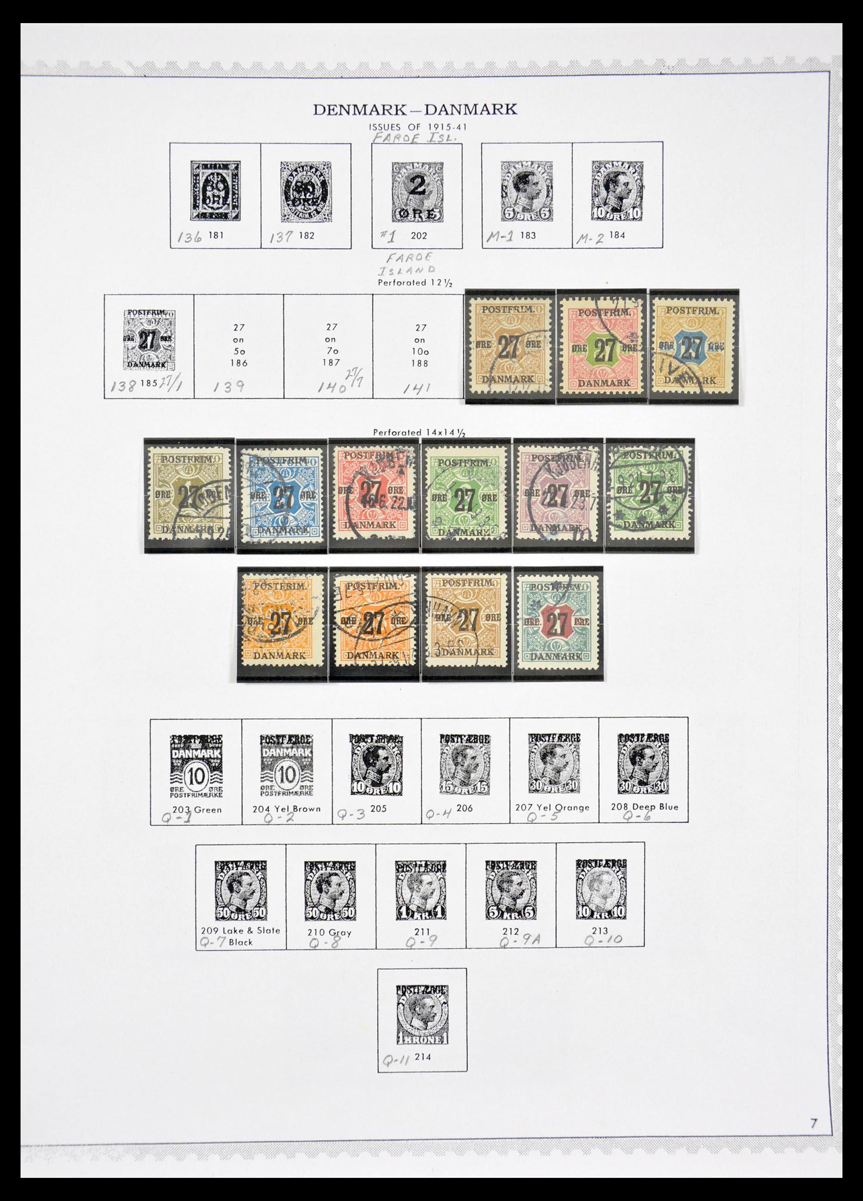 29660 007 - 29660 Scandinavië 1851-2002.