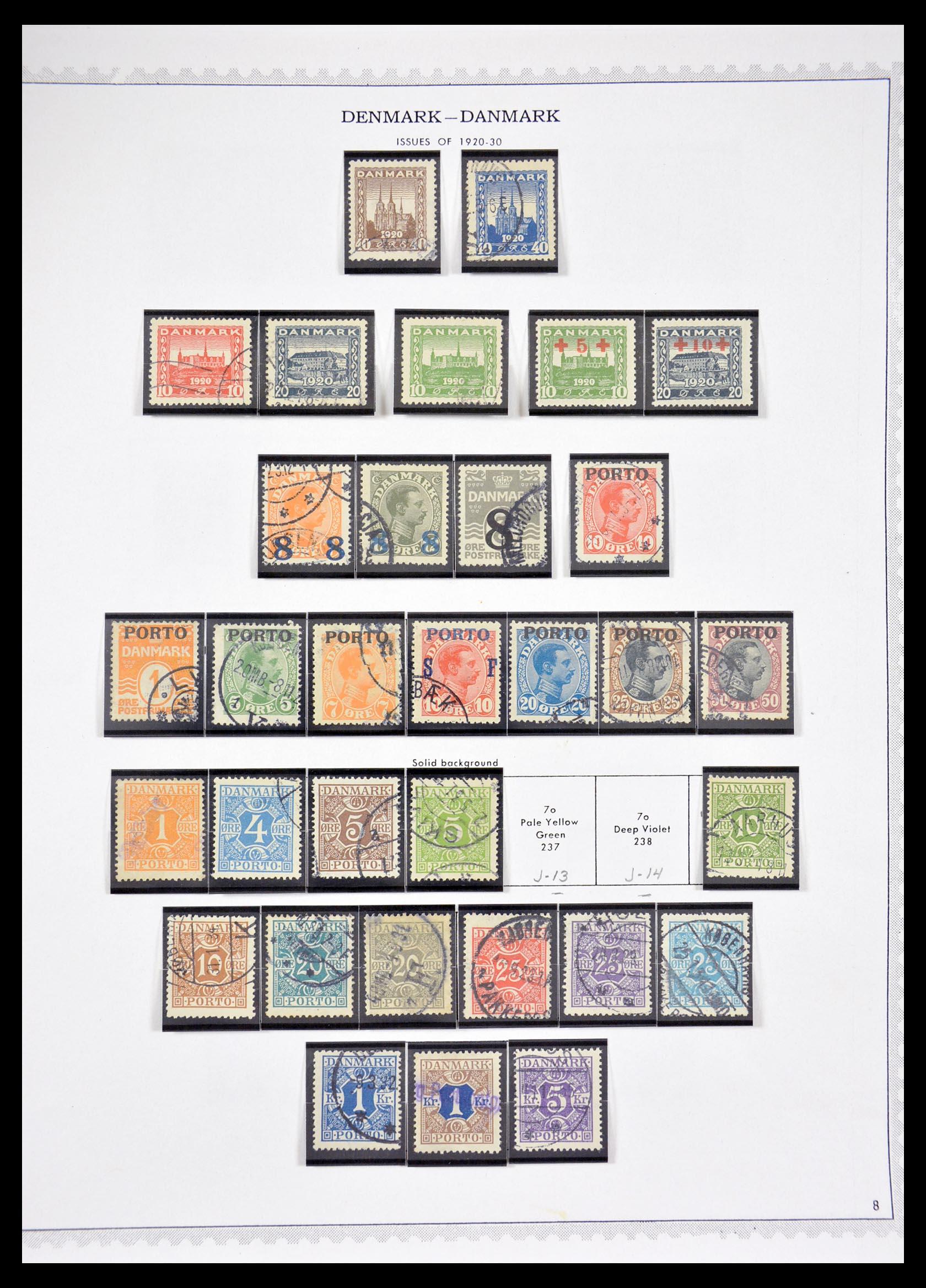 29660 008 - 29660 Scandinavië 1851-2002.