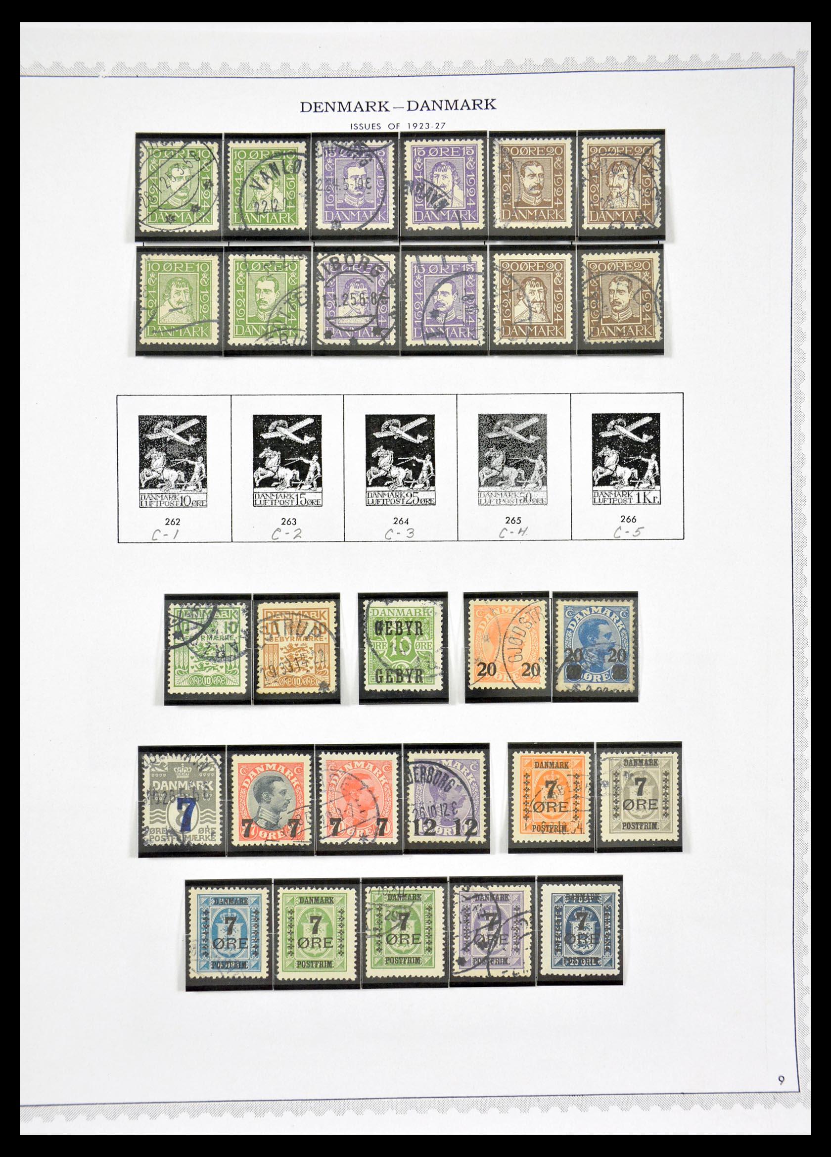 29660 009 - 29660 Scandinavië 1851-2002.