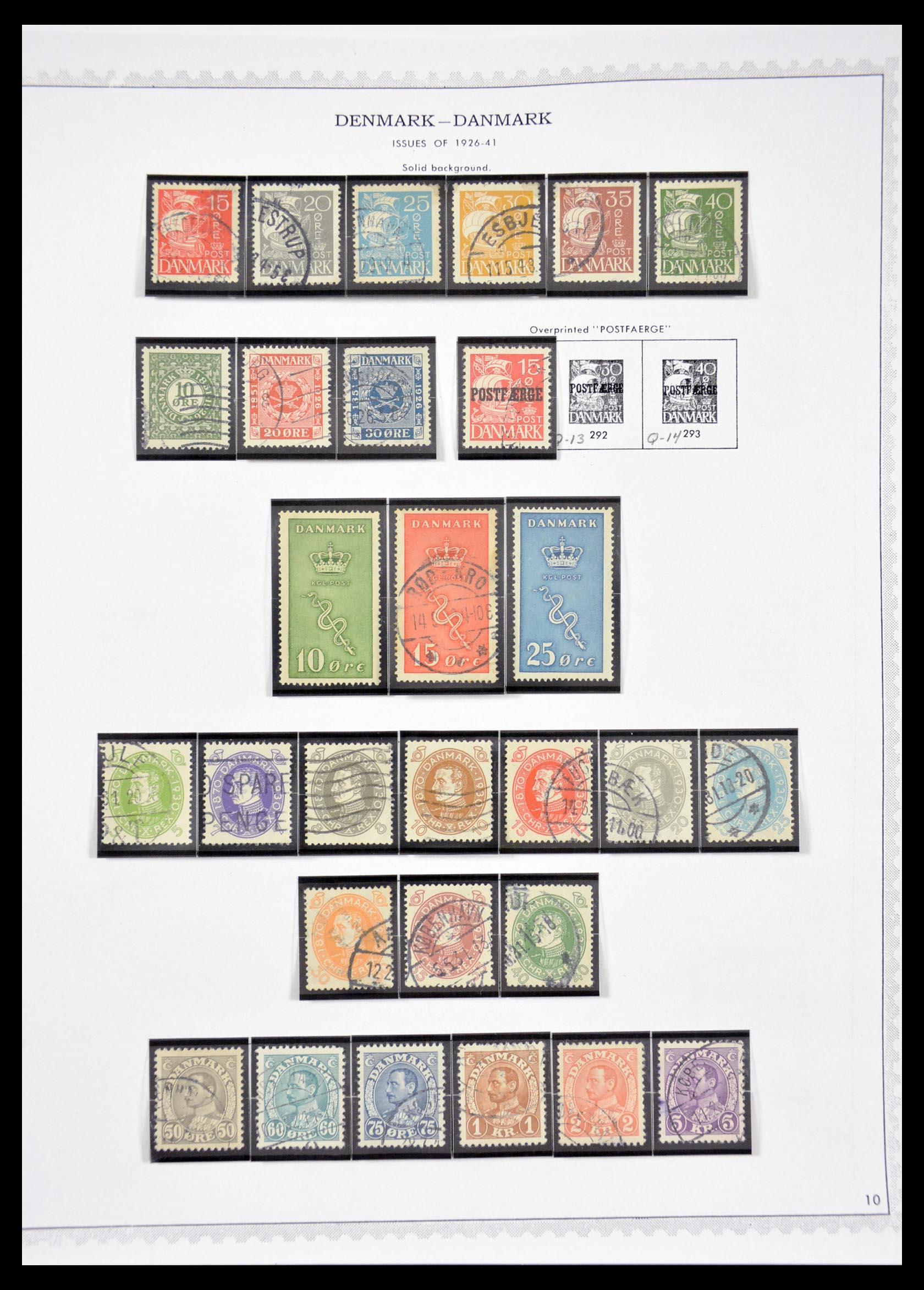 29660 010 - 29660 Scandinavië 1851-2002.