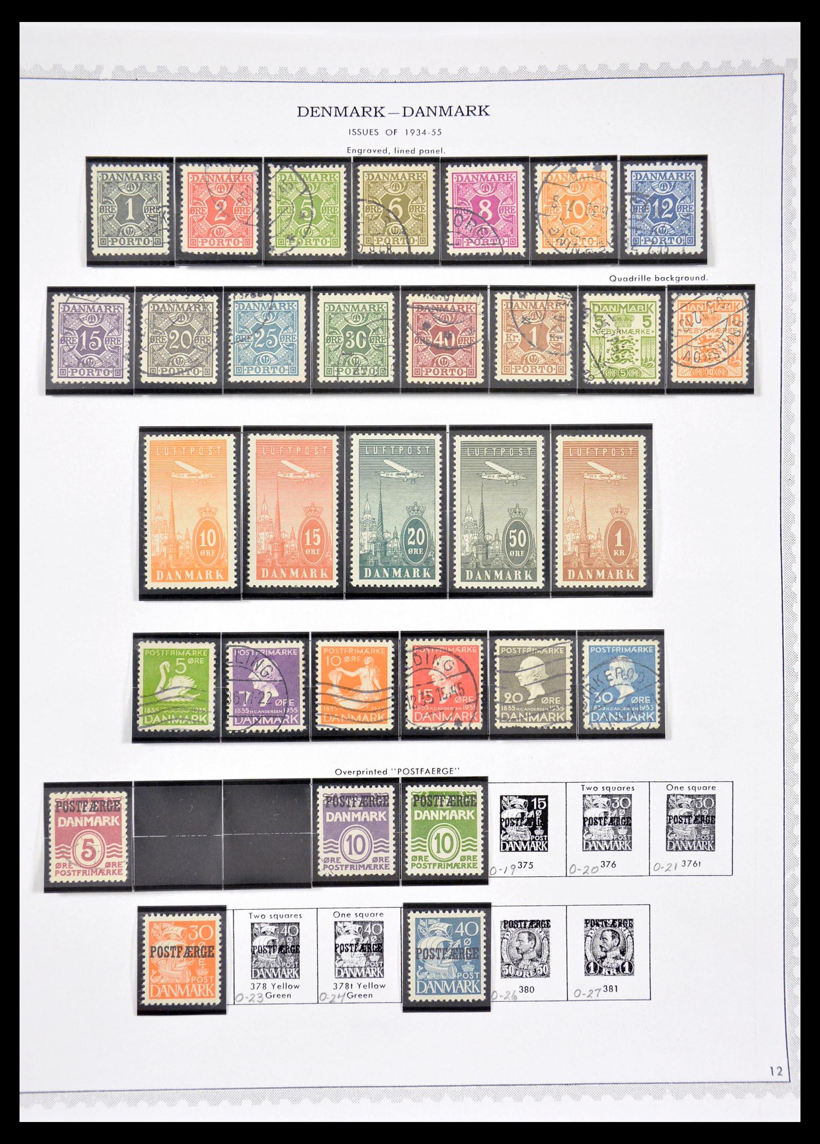 29660 012 - 29660 Scandinavië 1851-2002.