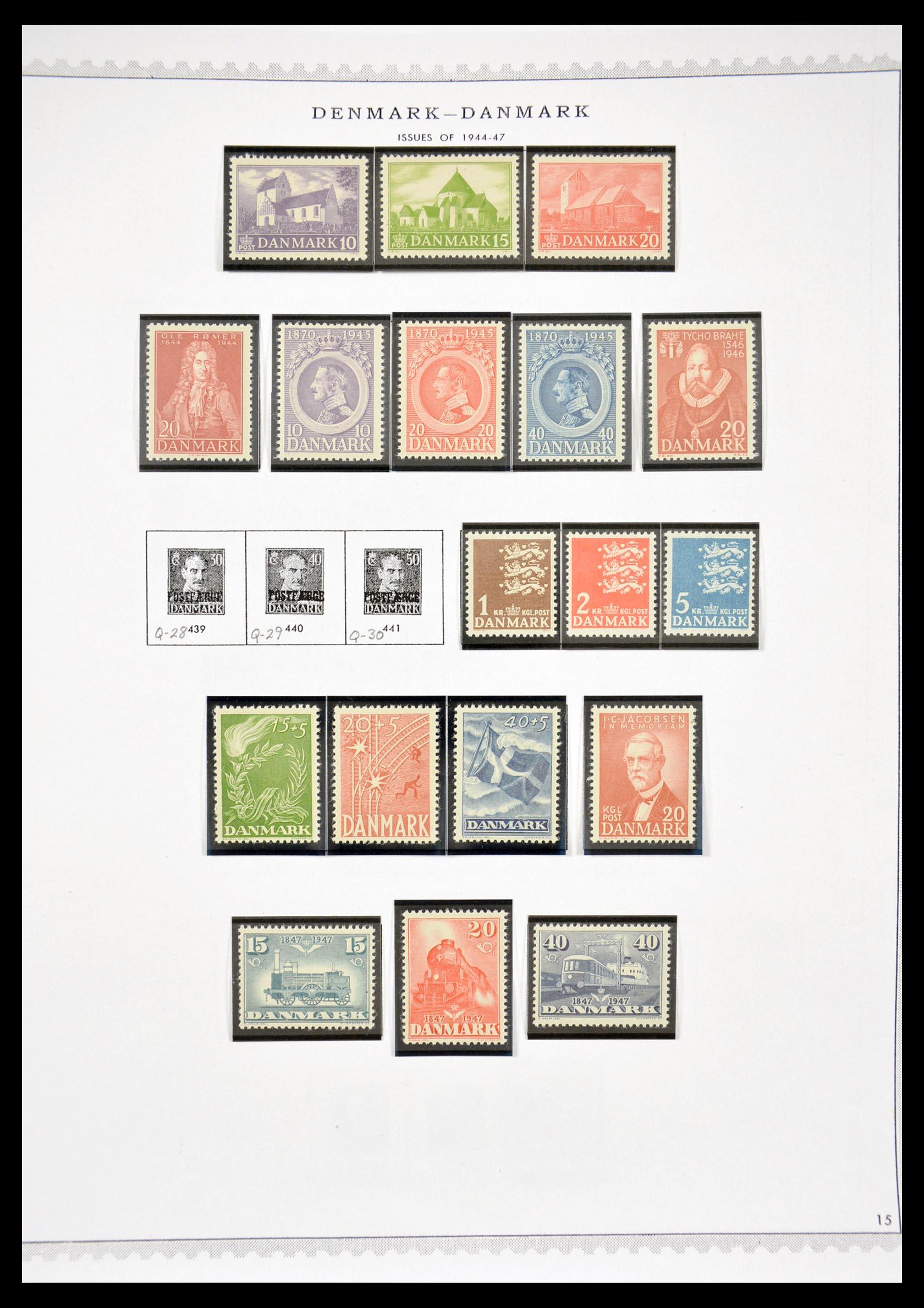 29660 015 - 29660 Scandinavië 1851-2002.