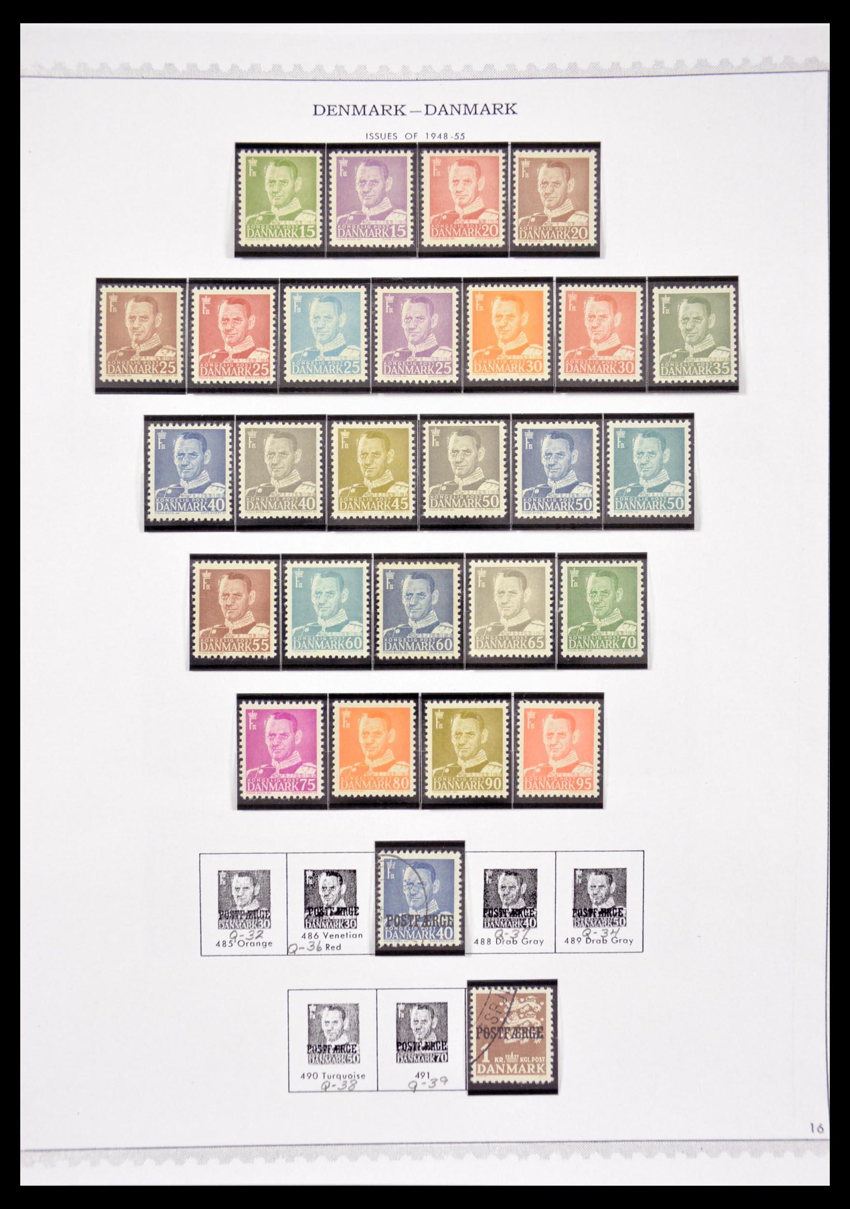 29660 016 - 29660 Scandinavië 1851-2002.
