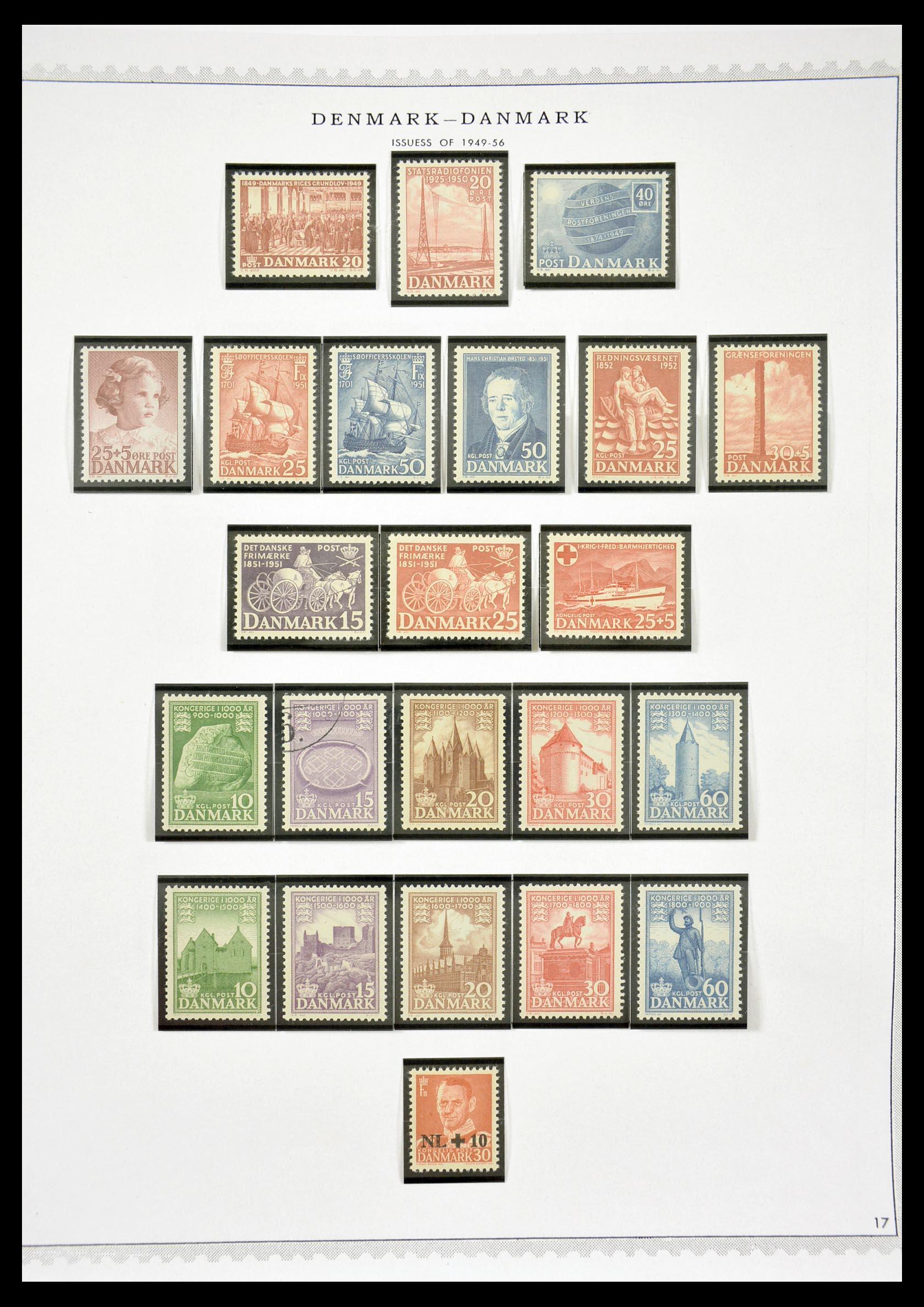 29660 017 - 29660 Scandinavië 1851-2002.