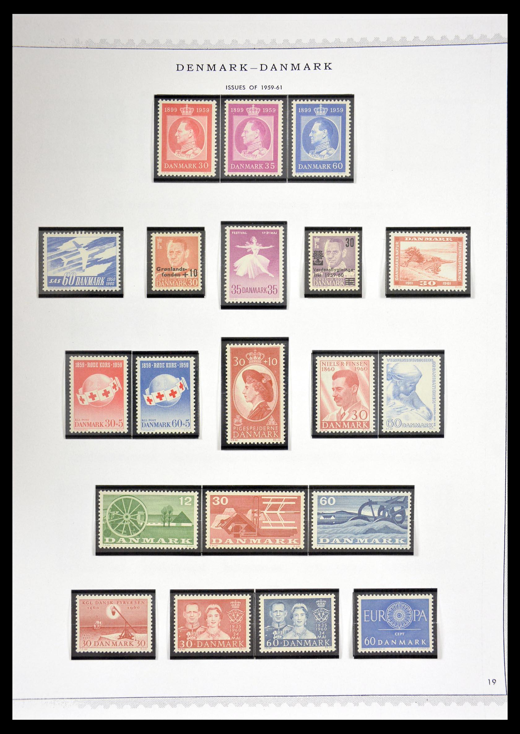 29660 019 - 29660 Scandinavië 1851-2002.