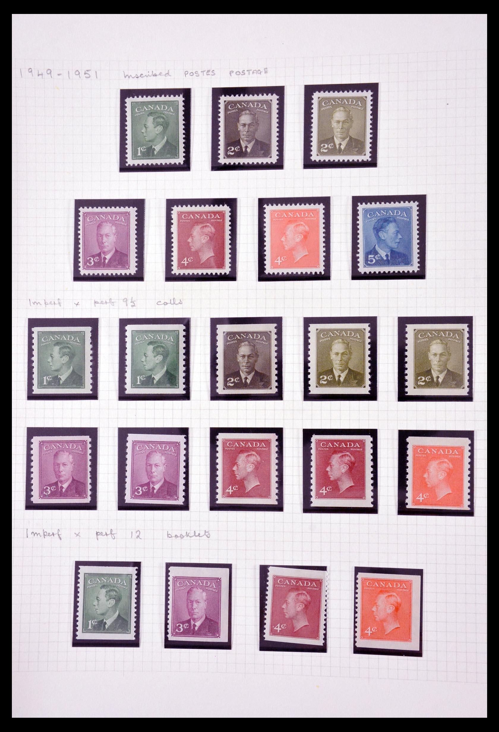 29714 008 - 29714 Canada 1937-1979.