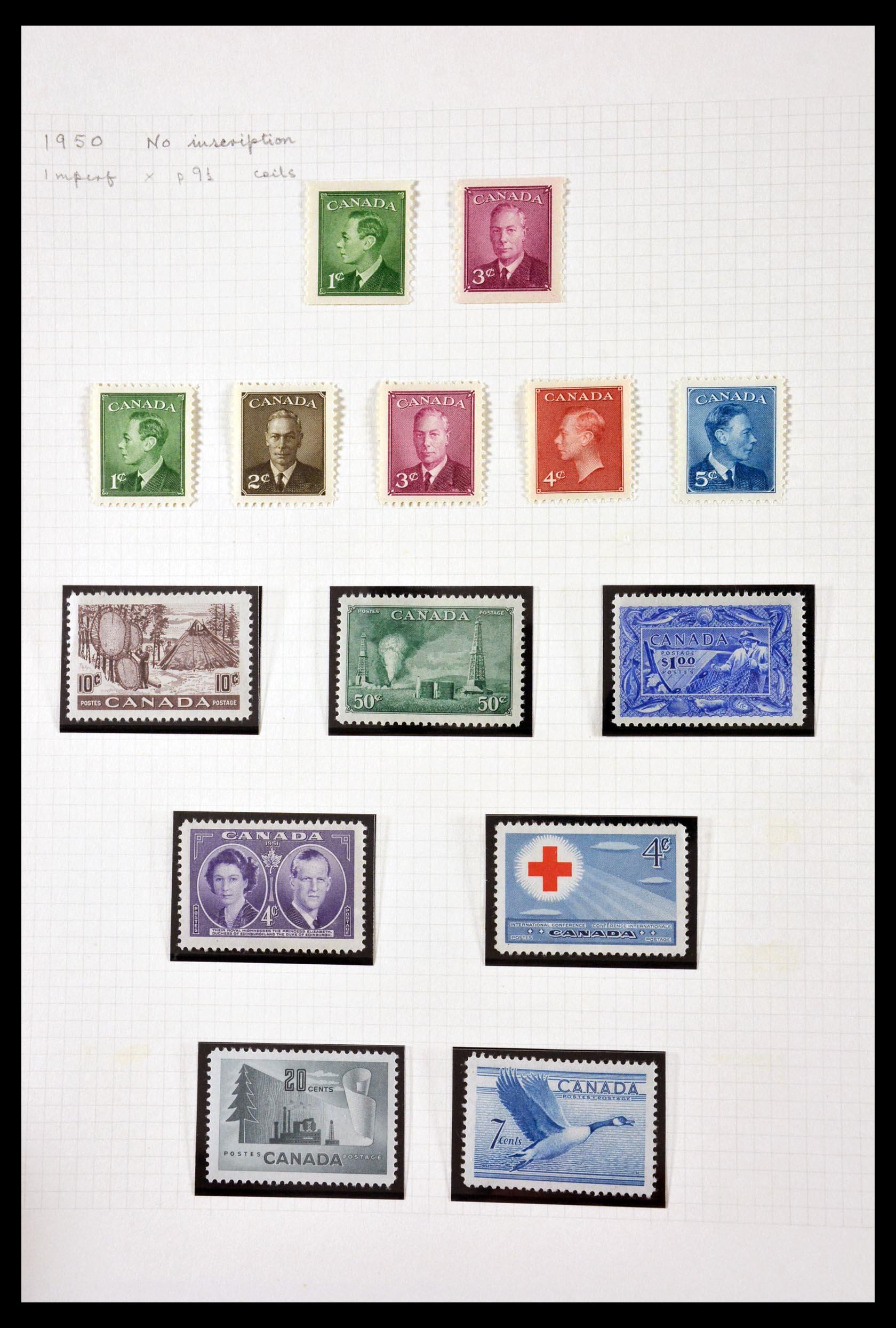 29714 009 - 29714 Canada 1937-1979.