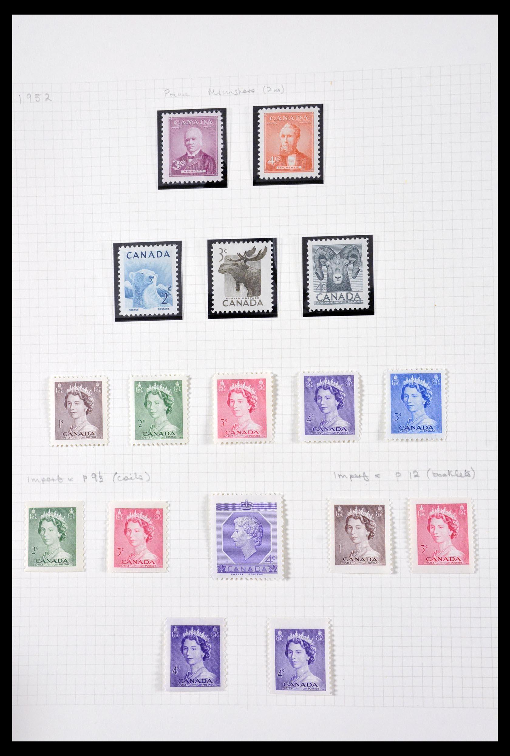 29714 010 - 29714 Canada 1937-1979.