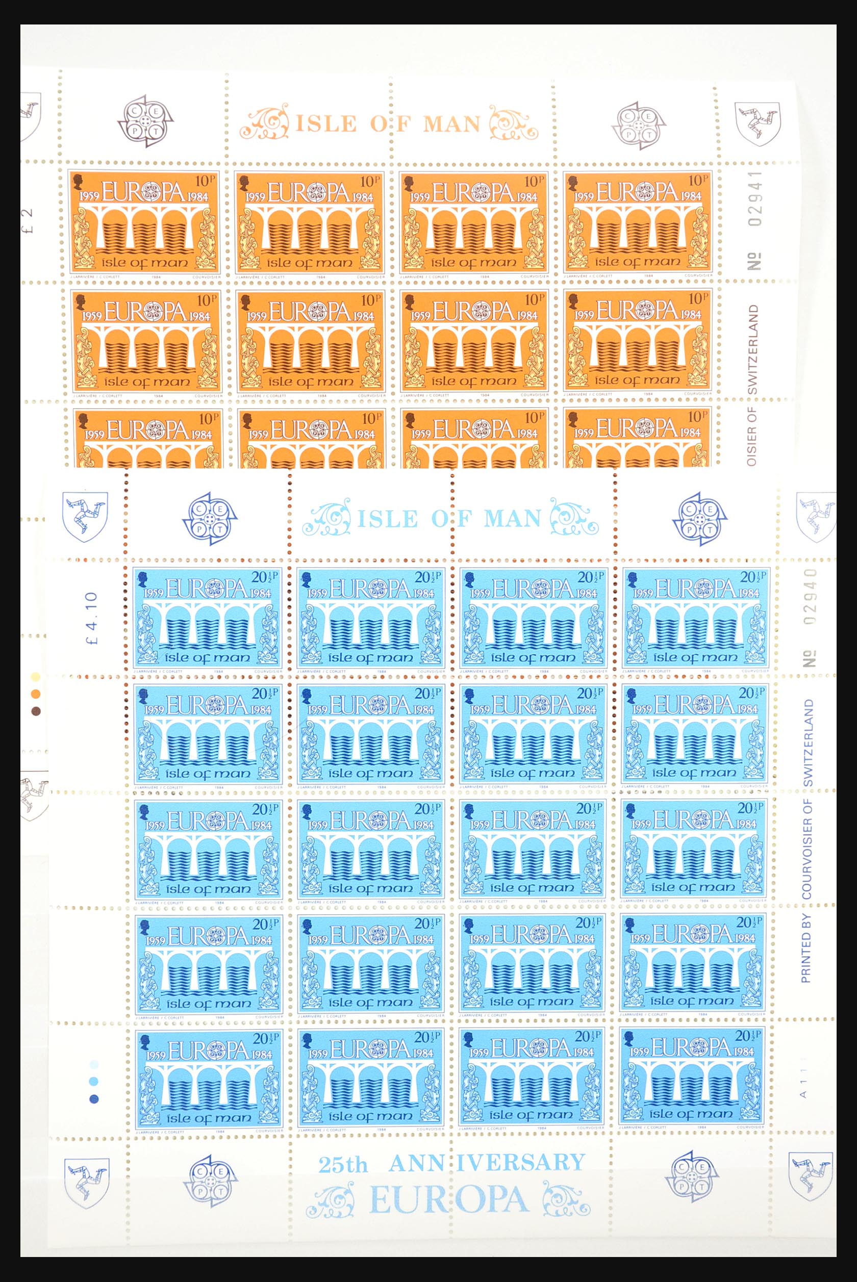 31249 001 - 31249 Kanaaleilanden blokken en velletjes 1978-1997.