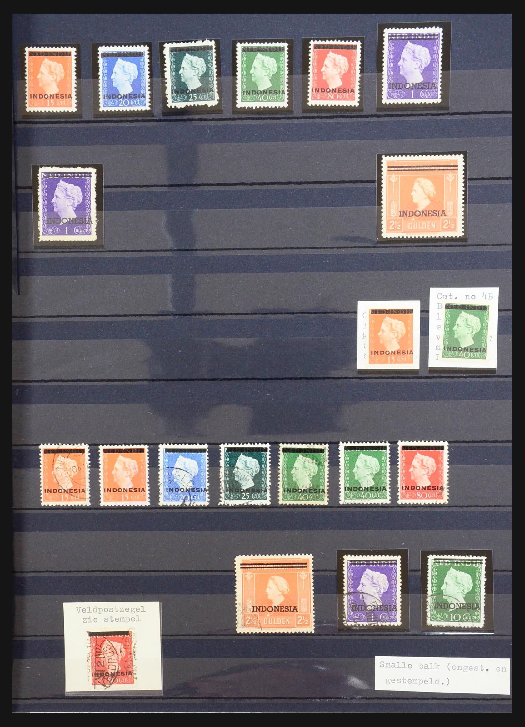 31401 001 - 31401 Indonesië 1949-1984.