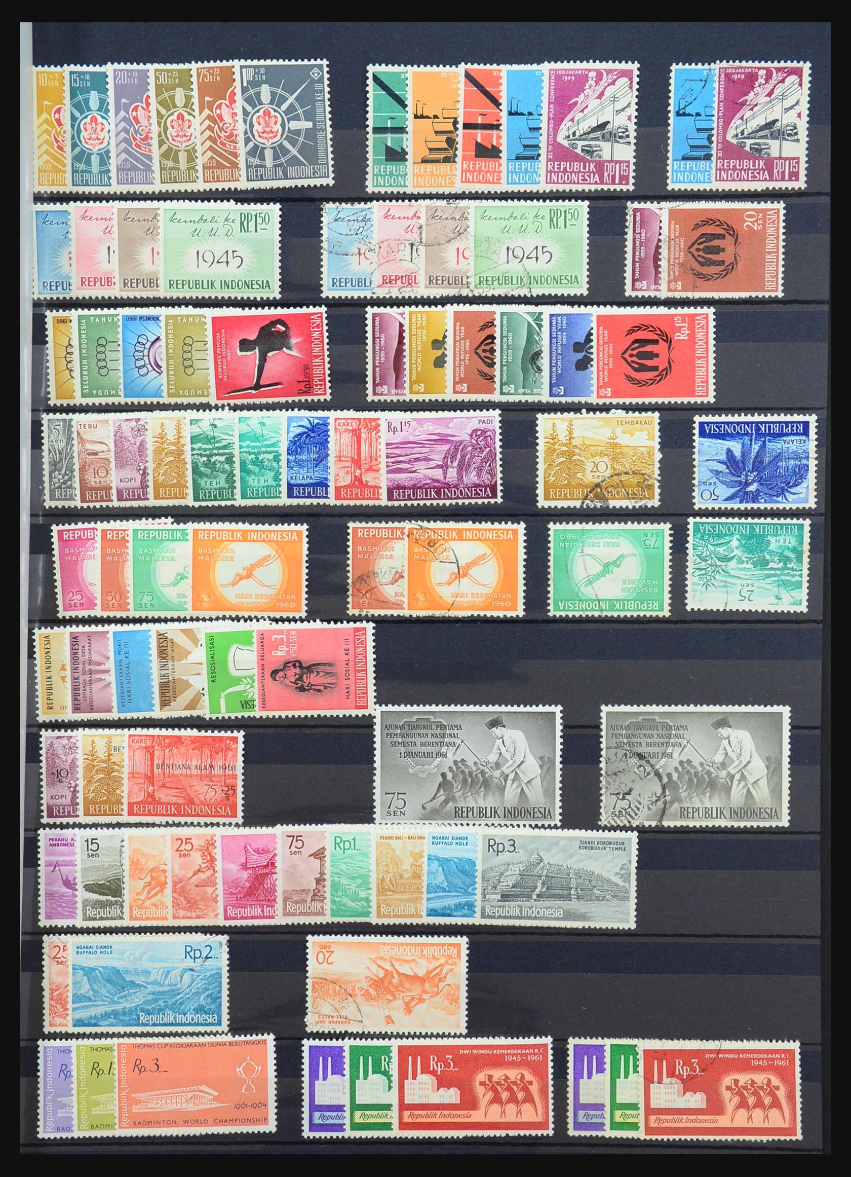 31401 009 - 31401 Indonesië 1949-1984.