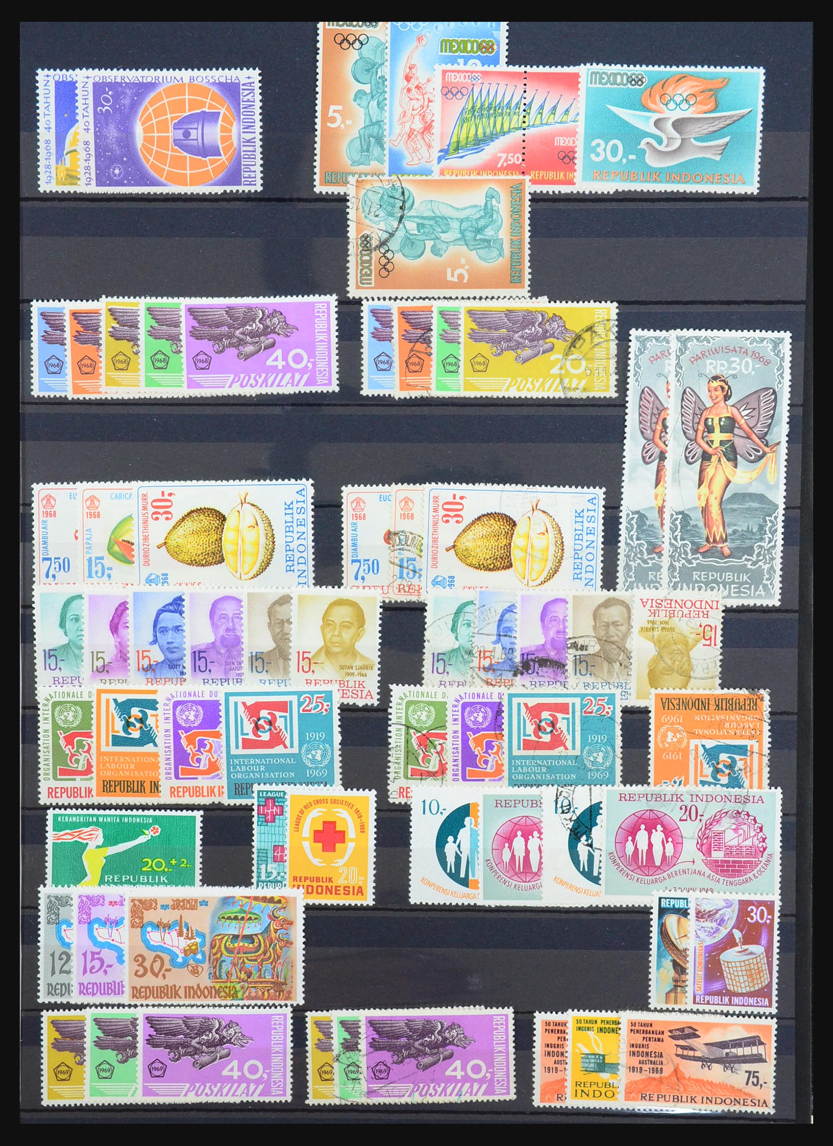 31401 017 - 31401 Indonesië 1949-1984.
