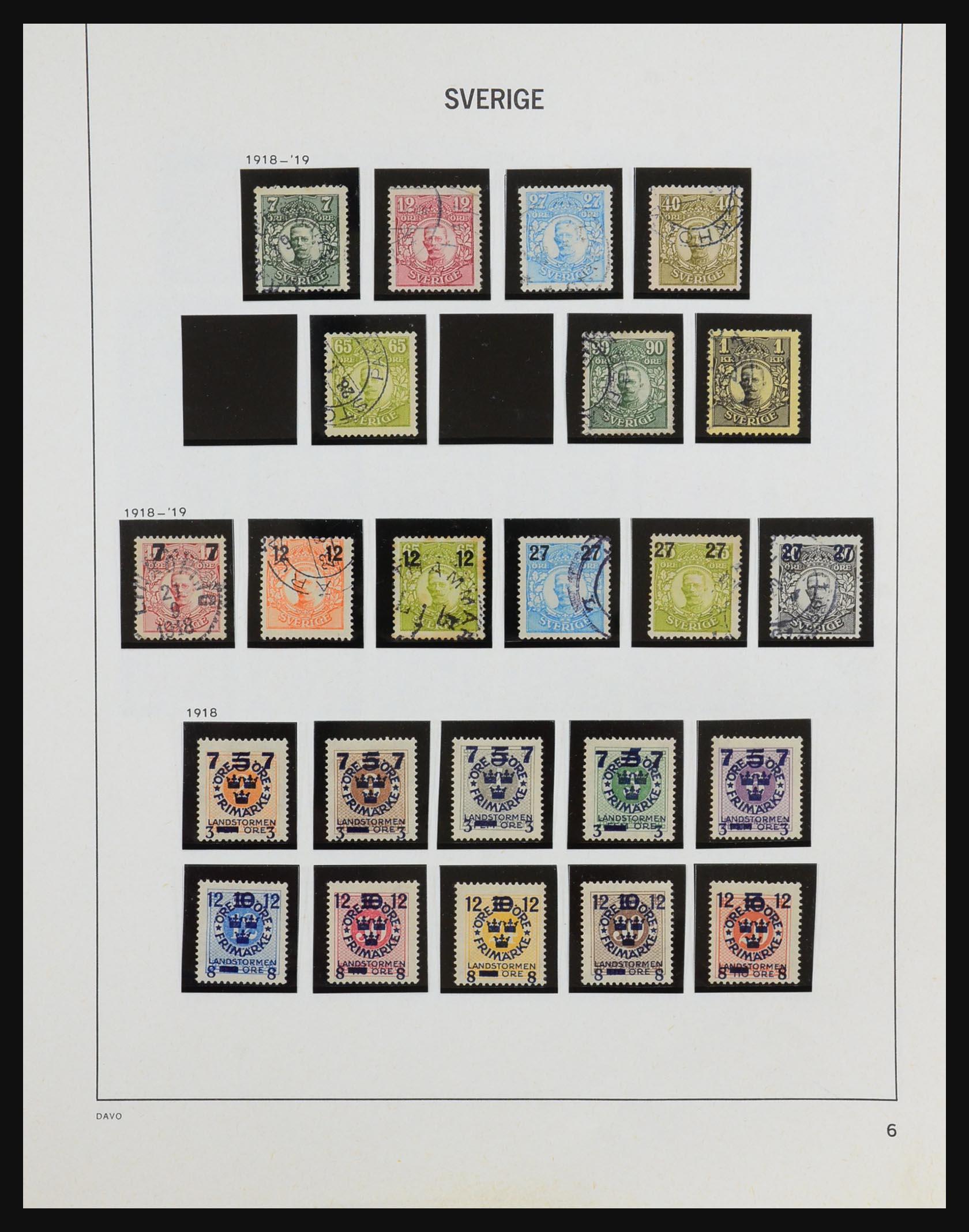 31453 006 - 31453 Sweden 1858-1974.