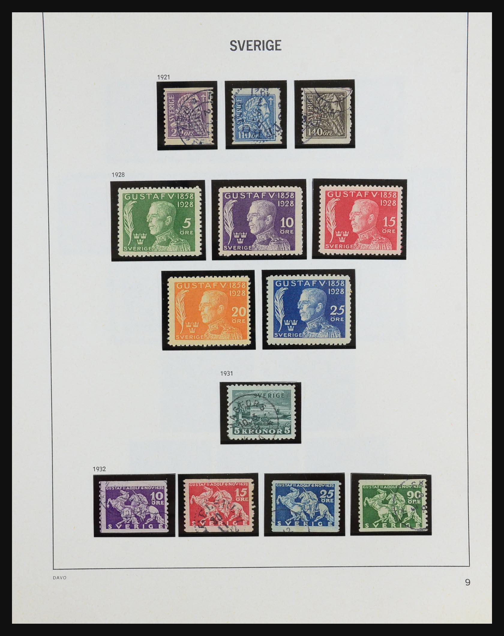 31453 010 - 31453 Sweden 1858-1974.