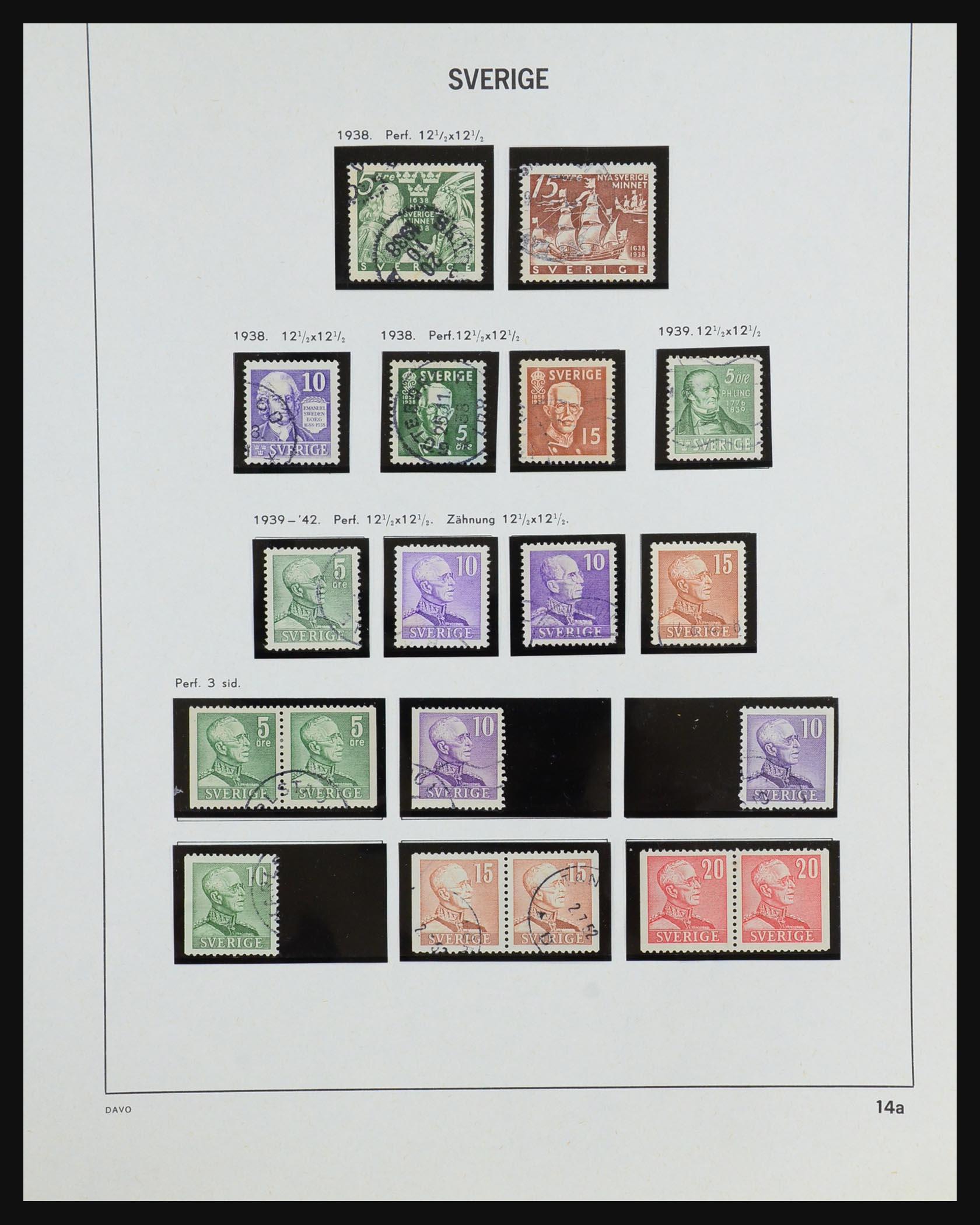 31453 017 - 31453 Sweden 1858-1974.