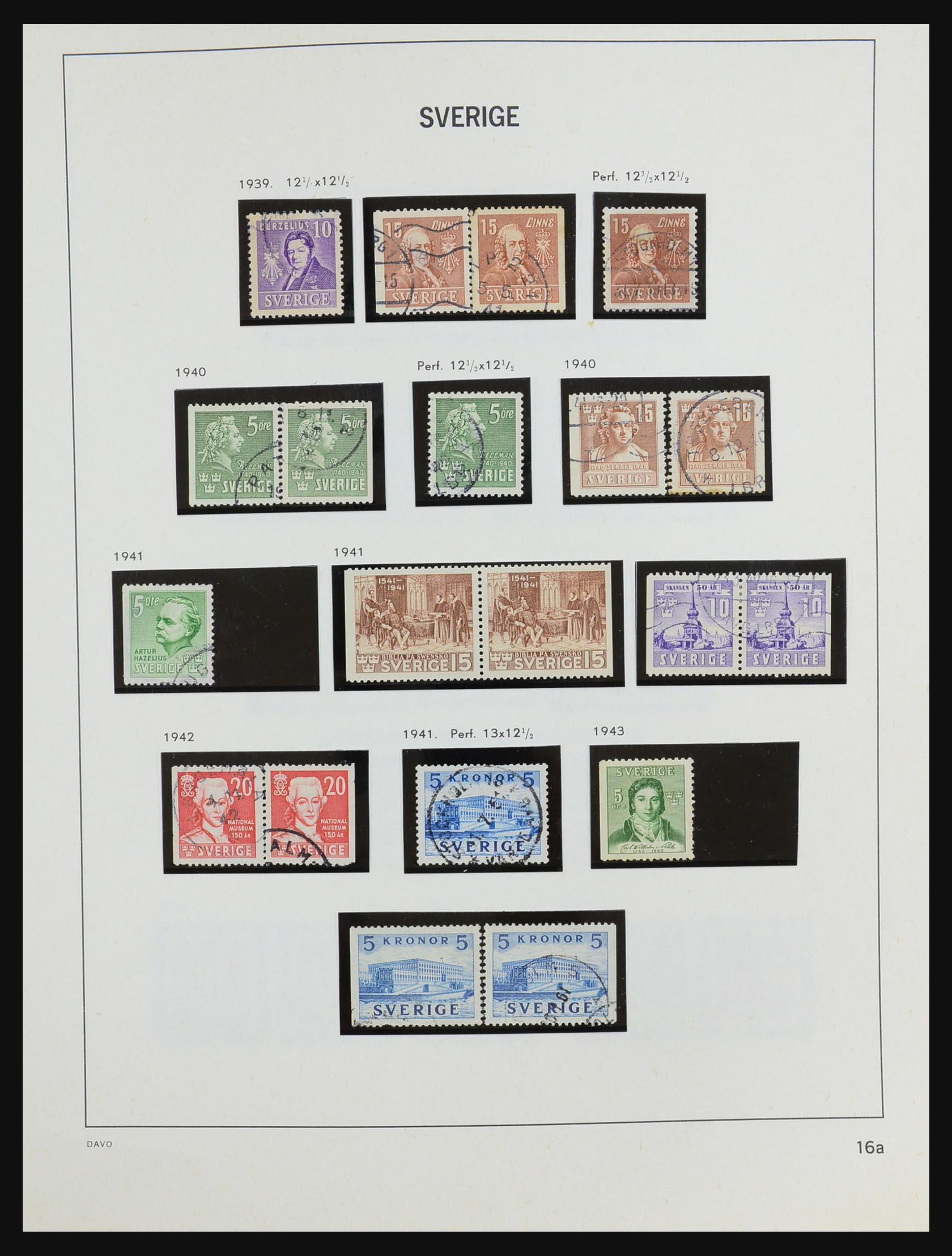 31453 020 - 31453 Sweden 1858-1974.