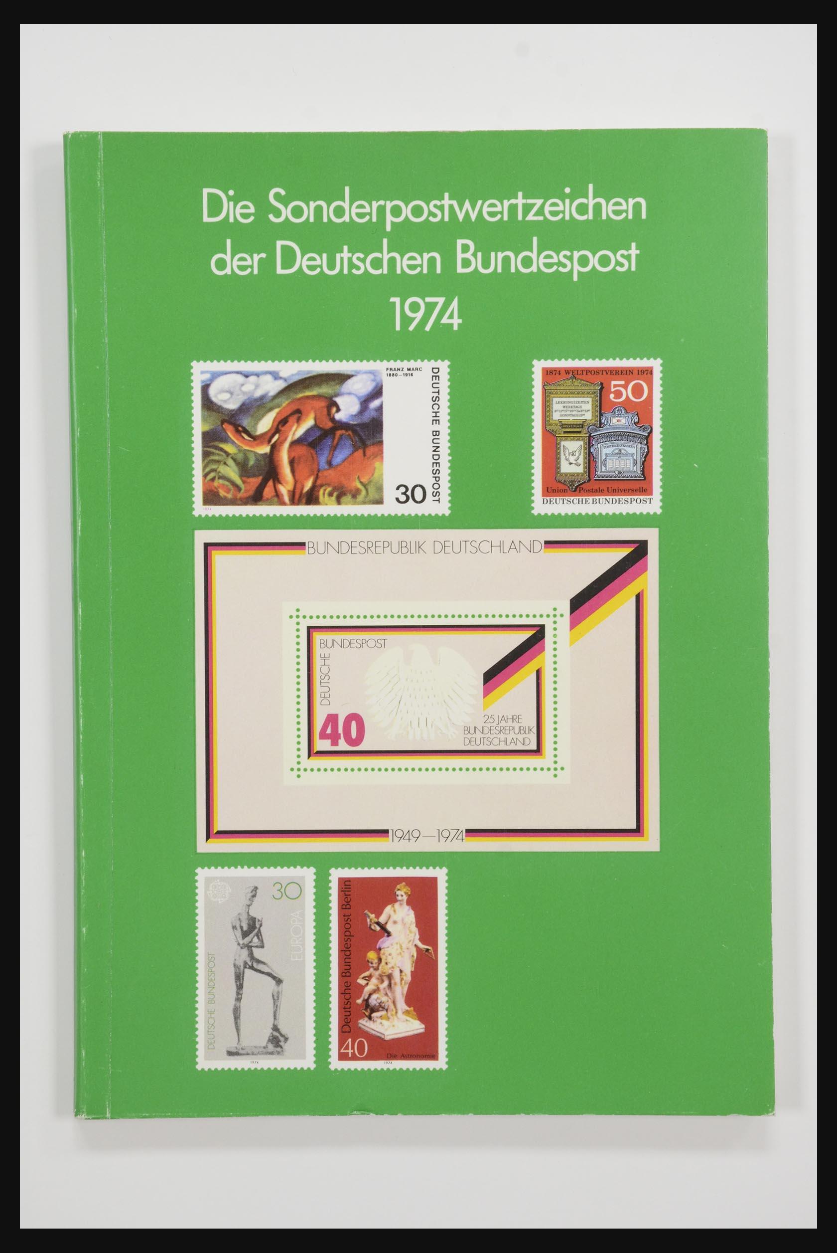 31834 002 - 31834 Bundespost yearbooks 1973(!)-1999.