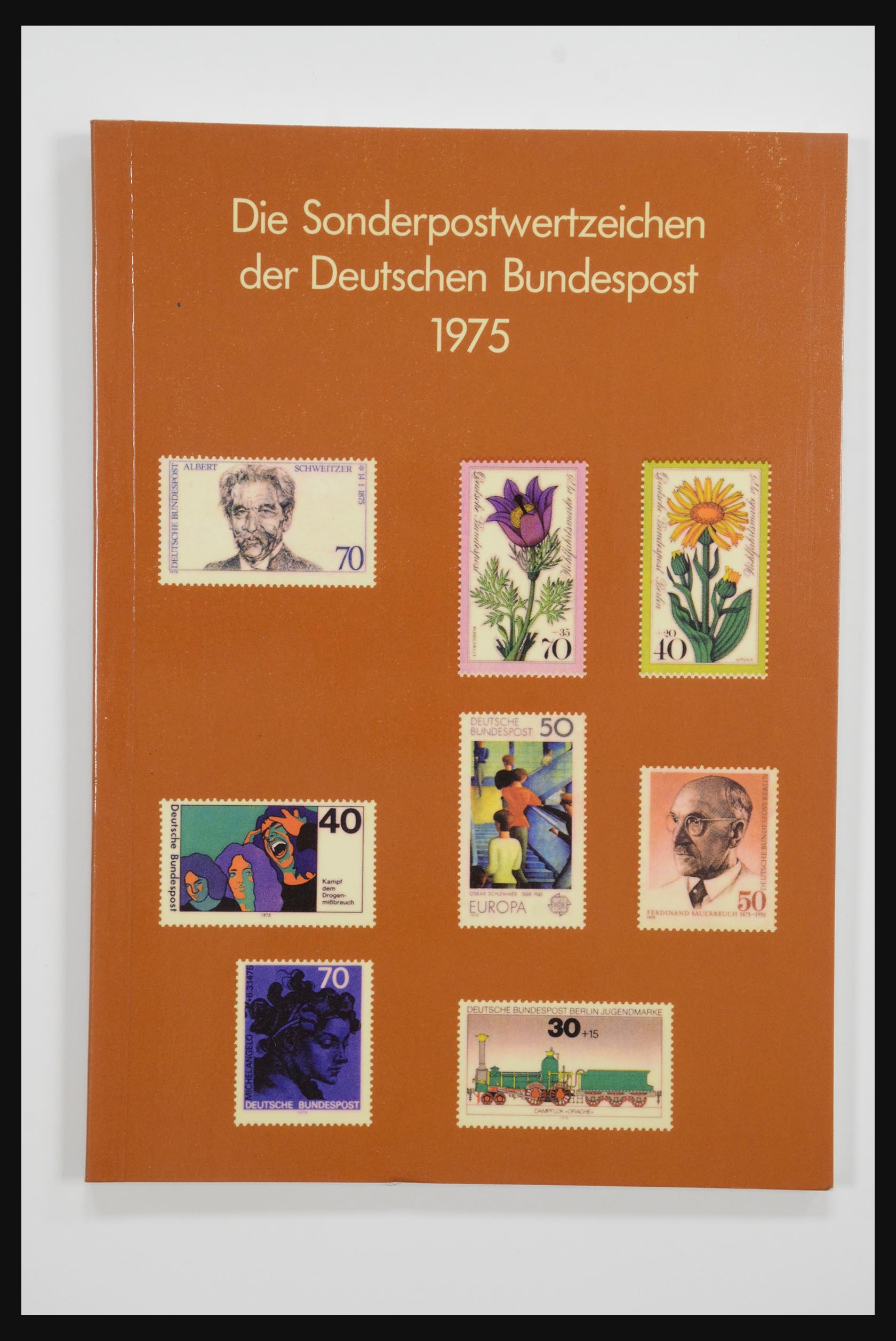 31834 003 - 31834 Bundespost yearbooks 1973(!)-1999.
