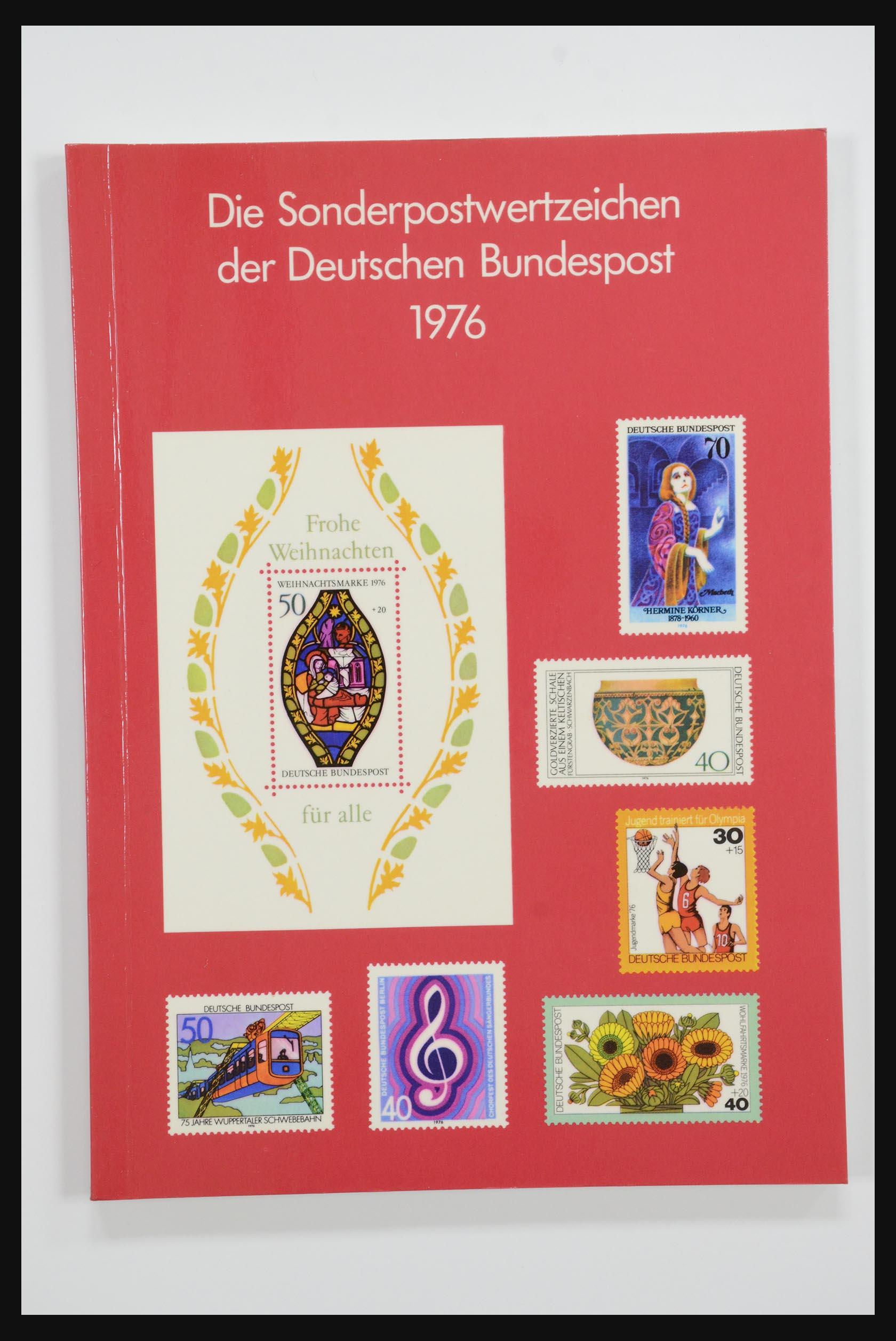 31834 004 - 31834 Bundespost yearbooks 1973(!)-1999.