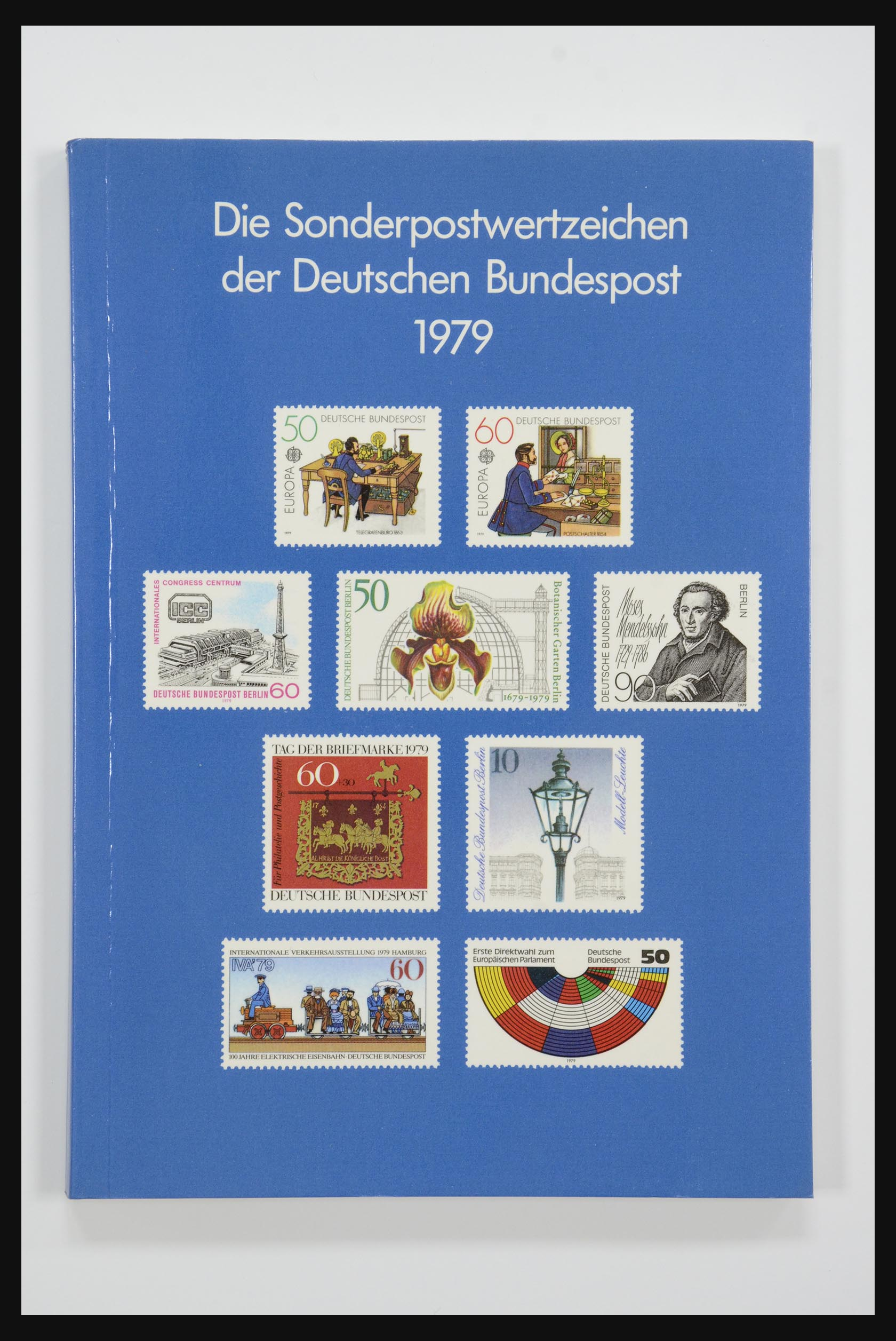 31834 007 - 31834 Bundespost yearbooks 1973(!)-1999.