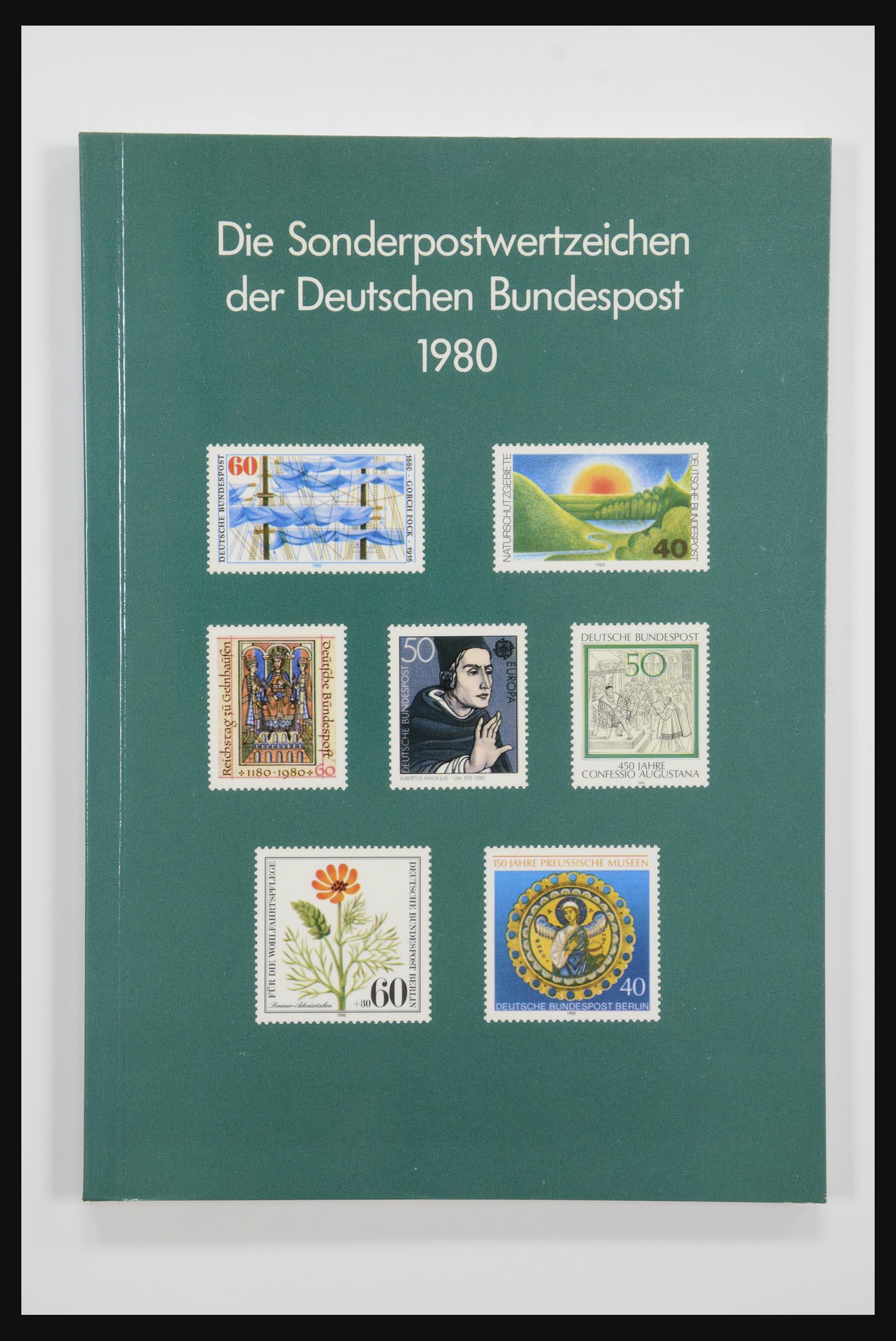 31834 008 - 31834 Bundespost yearbooks 1973(!)-1999.